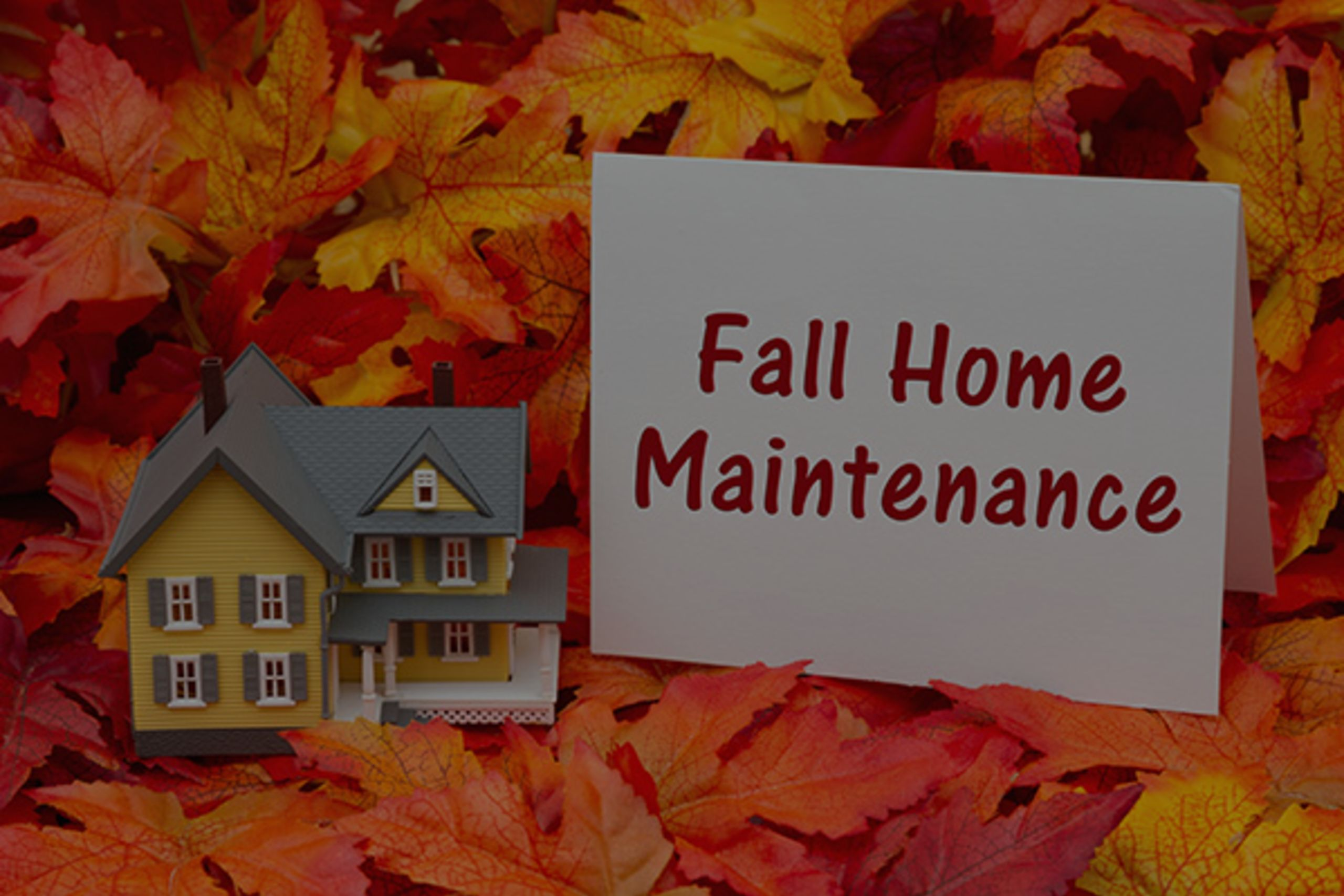 5 Easy Fall Home Maintenance Tips