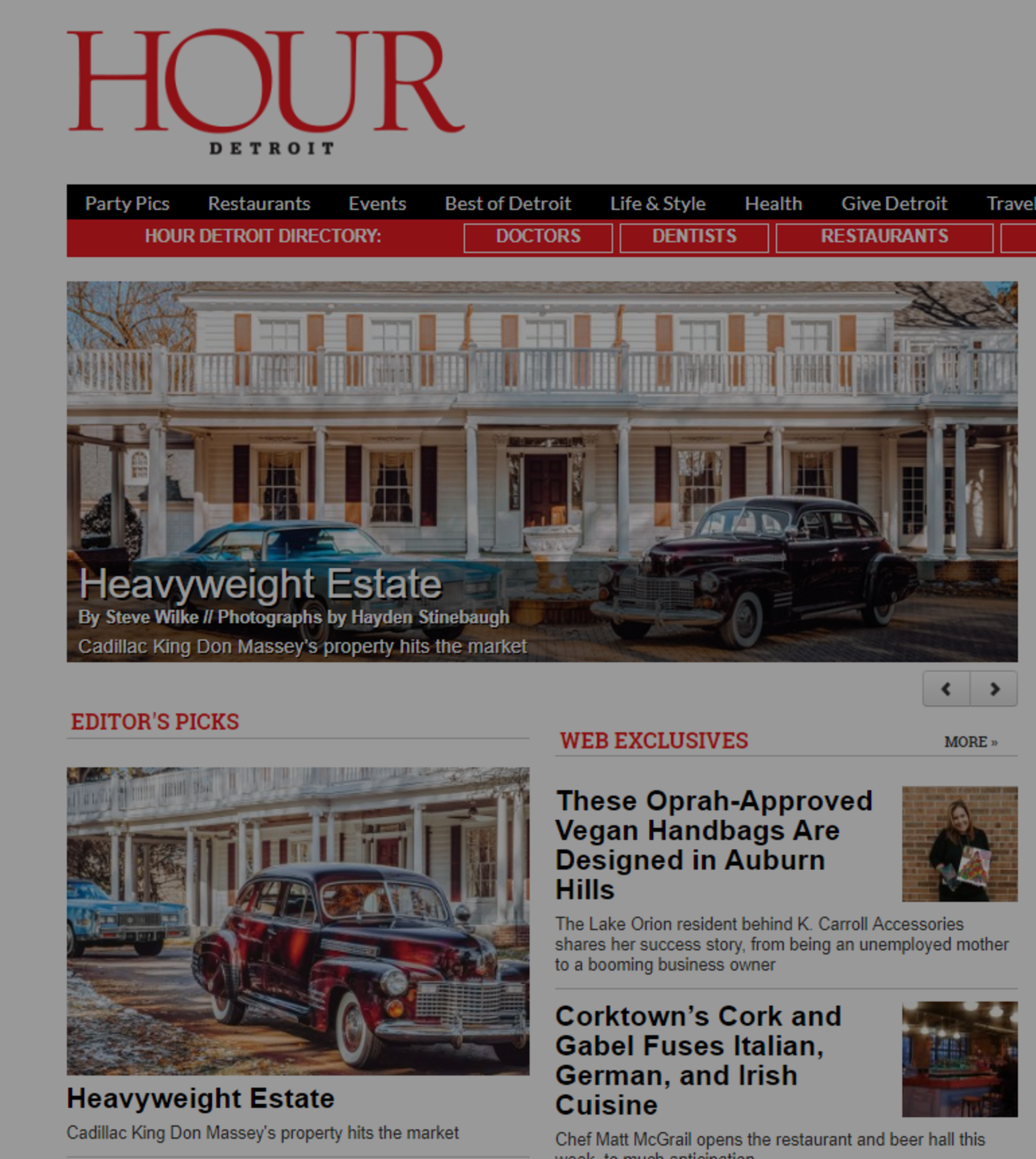 Hour Detroit Magazine: 801 Griswold