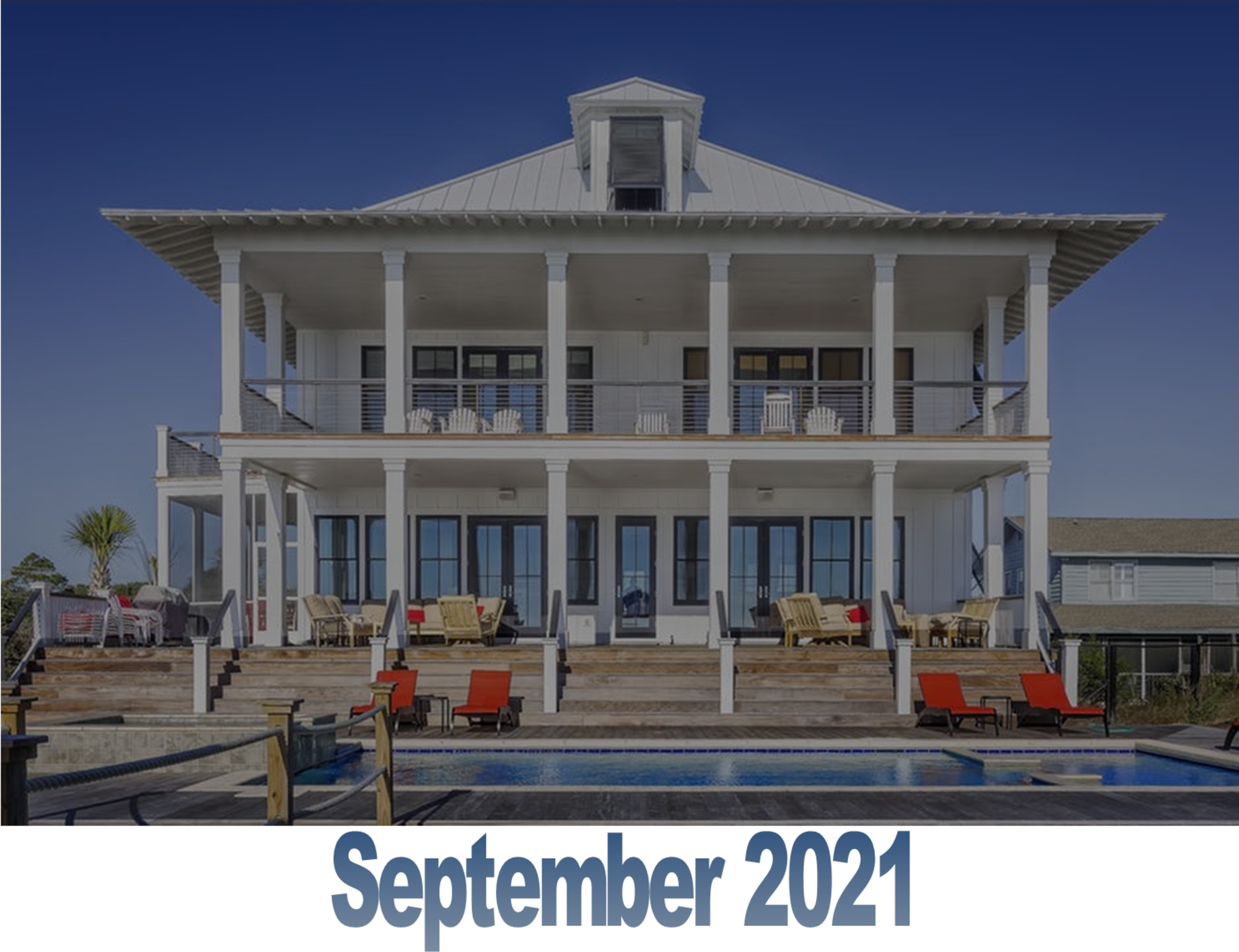 September 2021 Charleston Newsletter and Real Estate Update