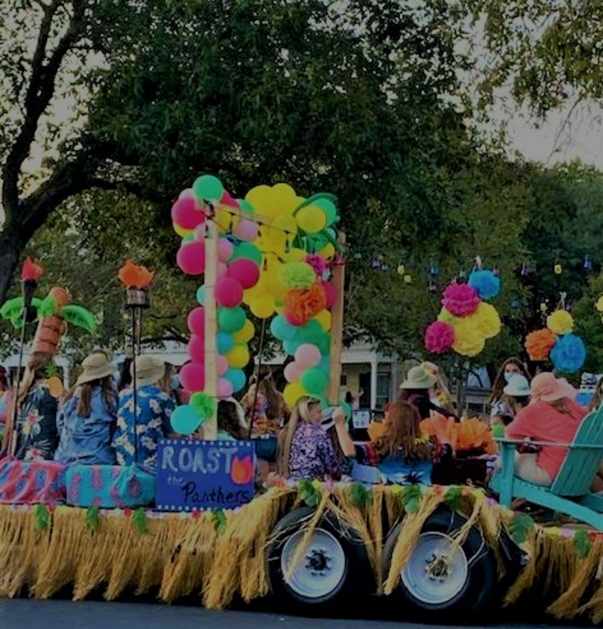 Homecoming Parade in Boerne