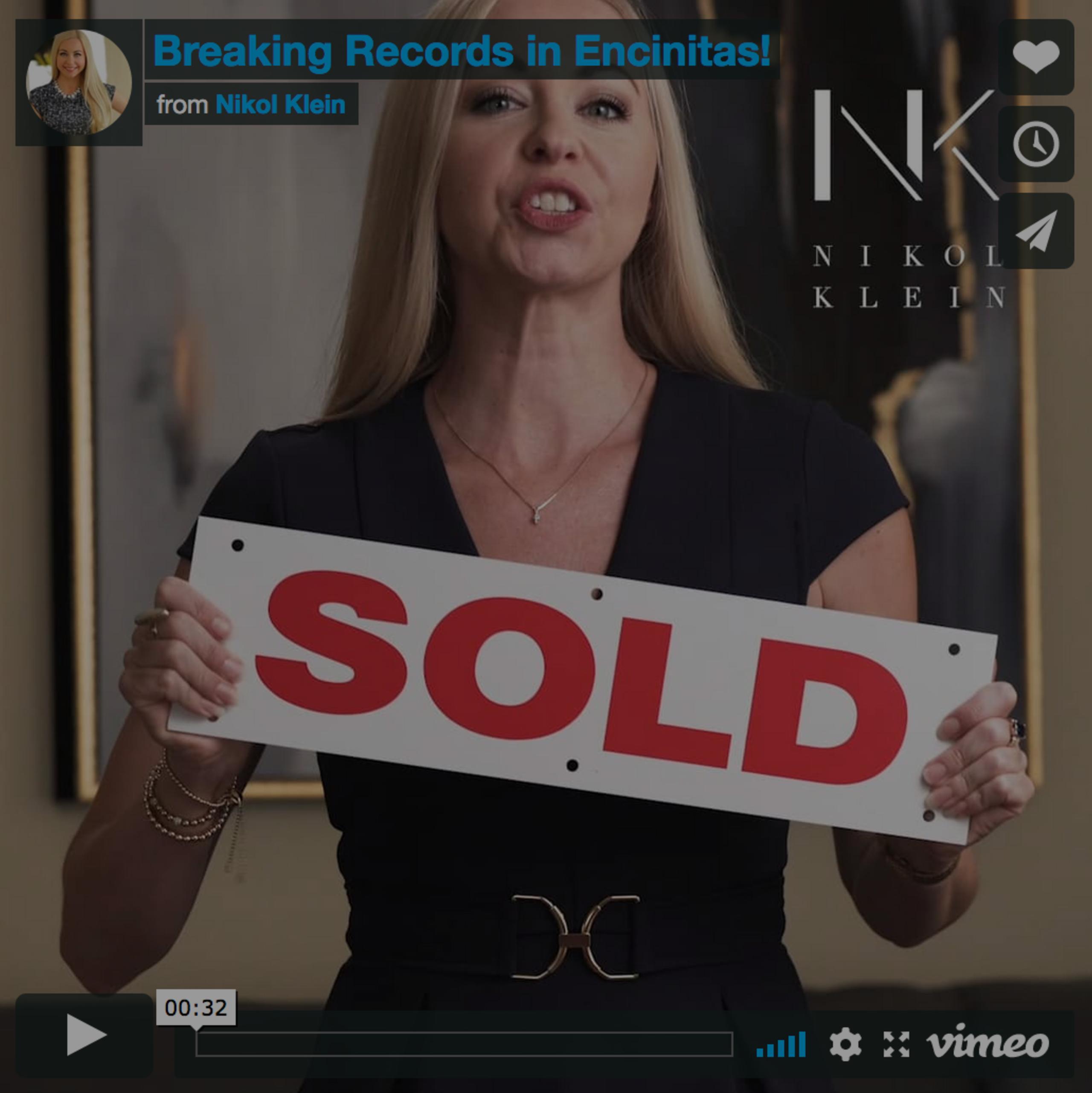 Breaking Records in Encinitas!