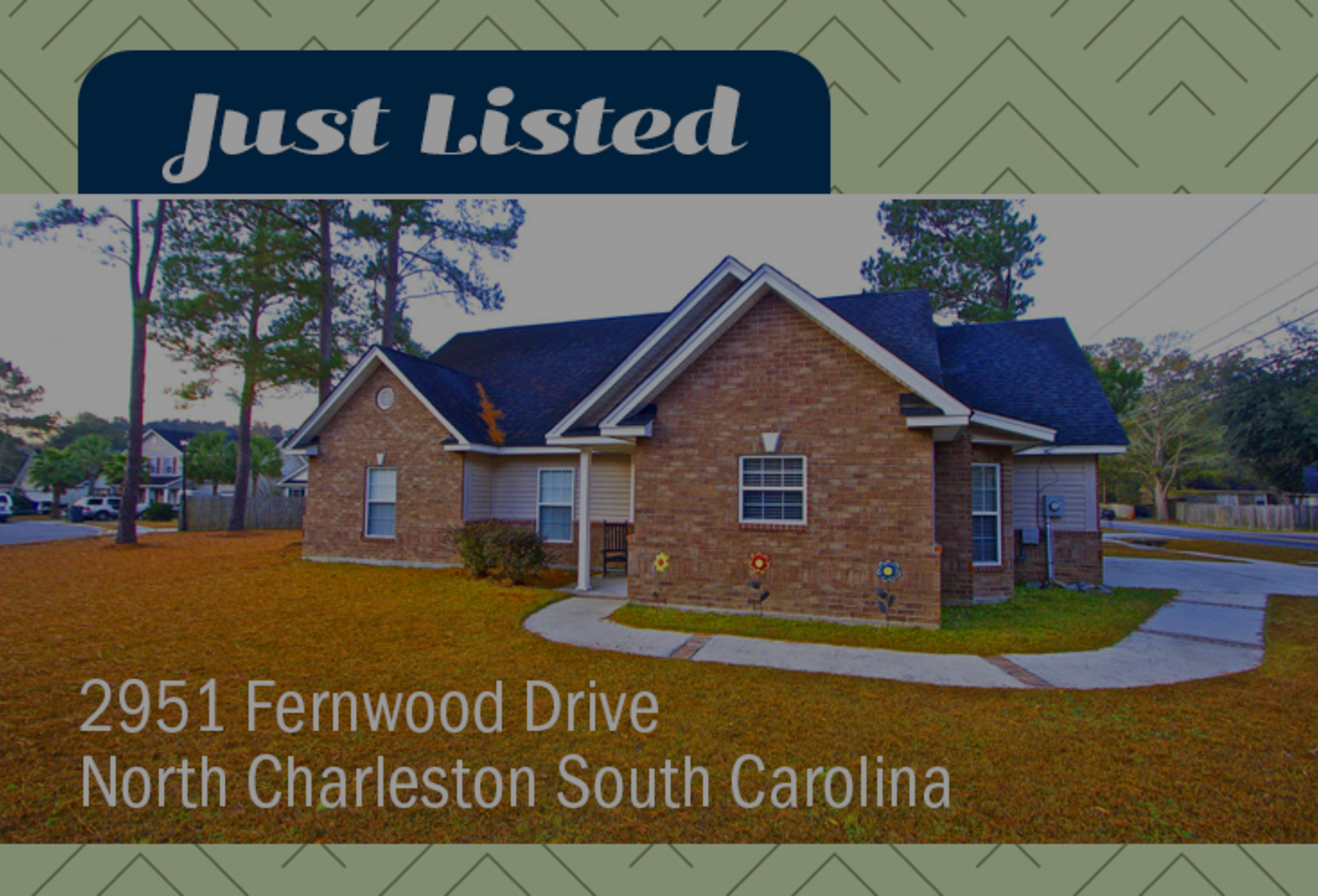 新品上市:2951 Fernwood Drive in North Charleston