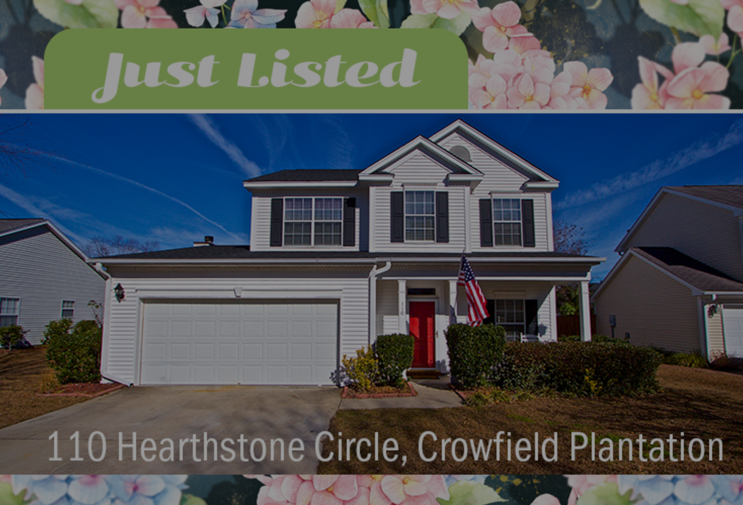 New Listing: 110 Hearthstone Circle in Goose Creek