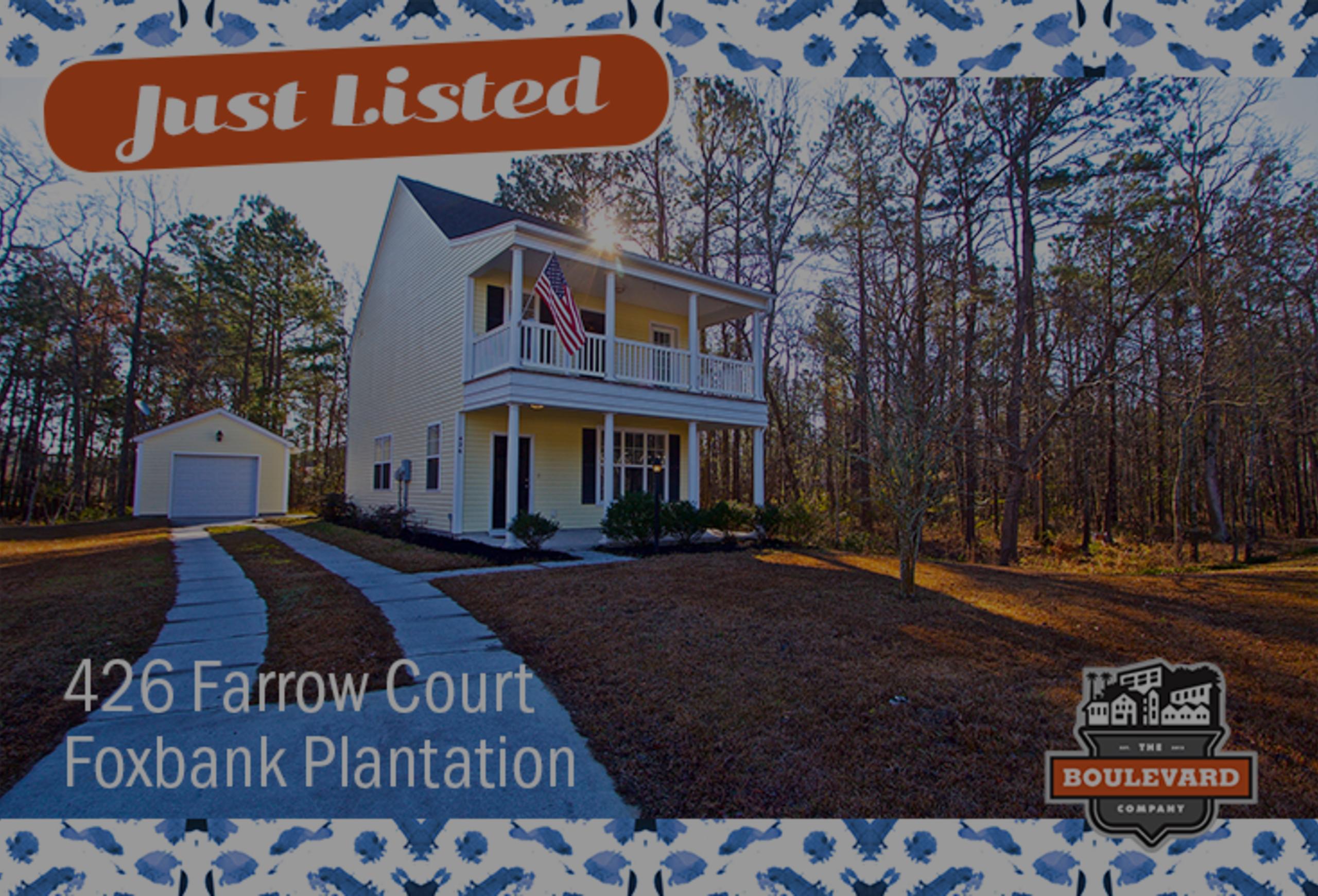 new listing: 426 Farrow Court in Foxbank Plantation