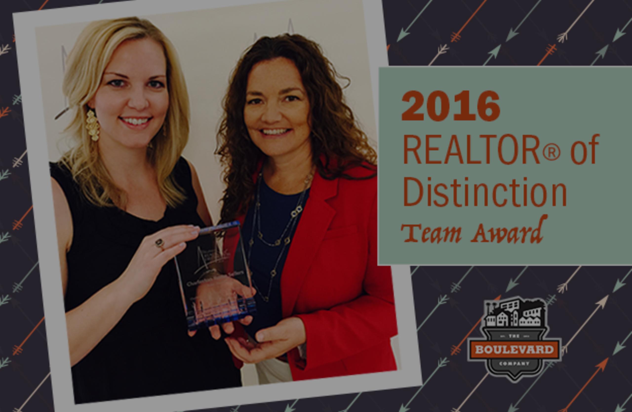 2016 REALTOR® of Distinction Award