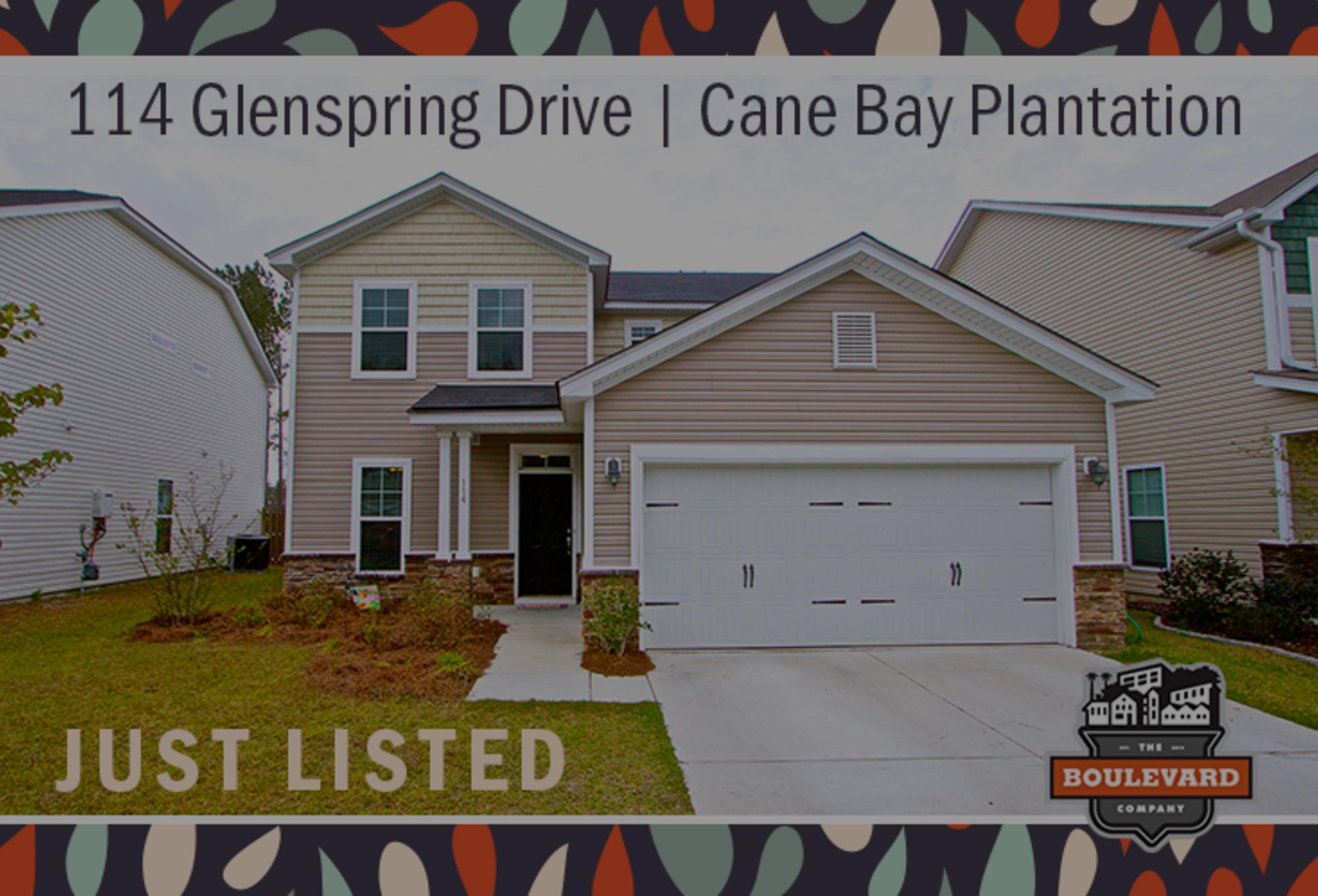 new listing: 114 Glenspring Drive, Summerville SC