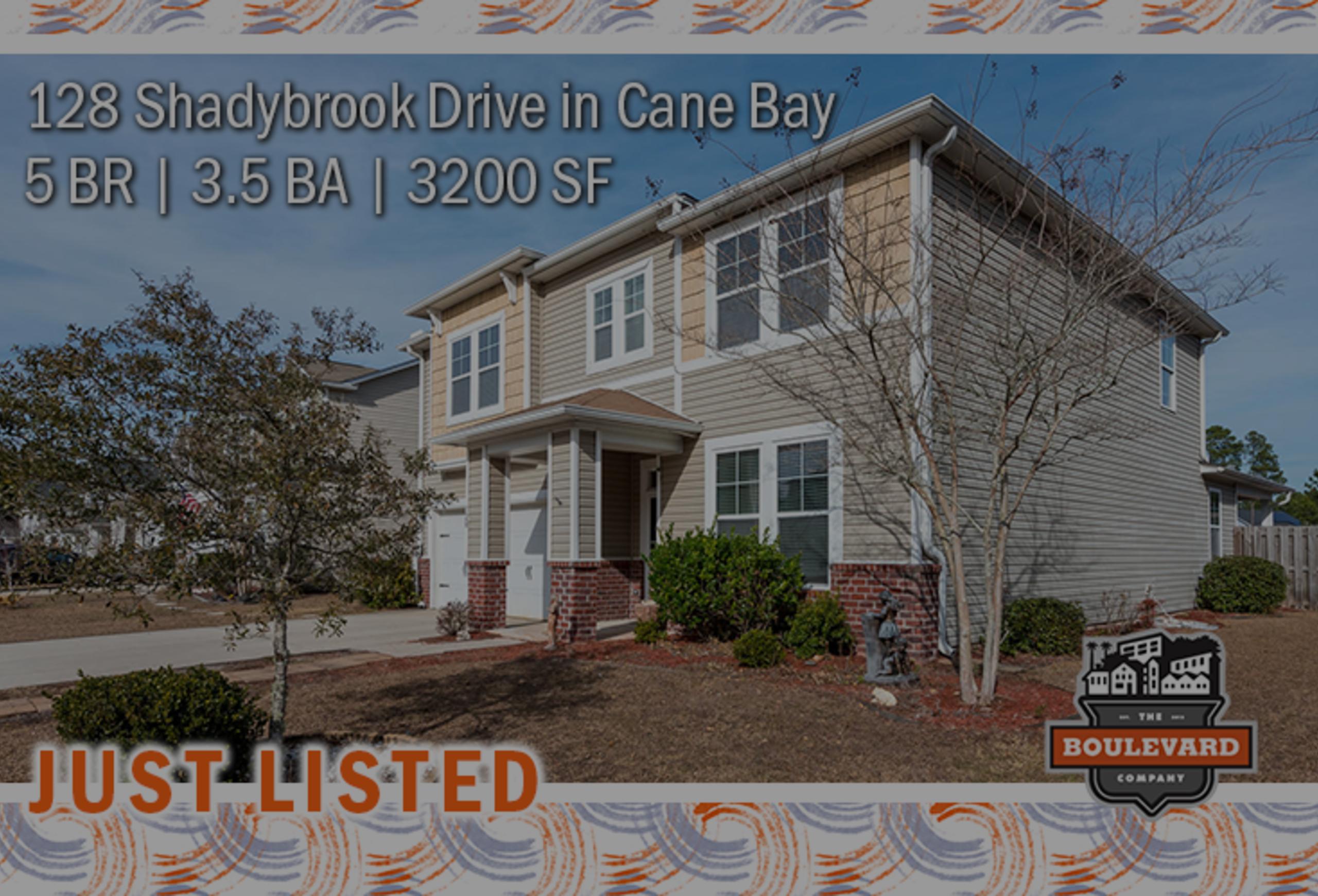 new listing: 128 Shadybrook Drive in Cane Bay Plantation