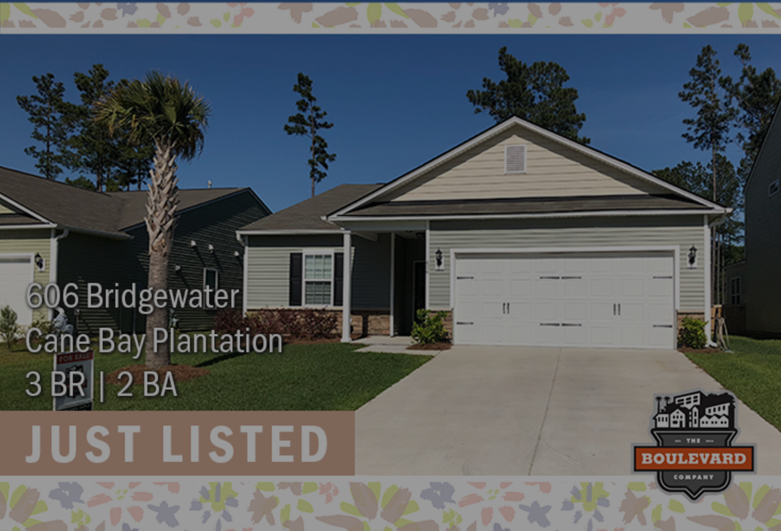 new listing: 606 Bridgewater Court in Cane Bay Plantation