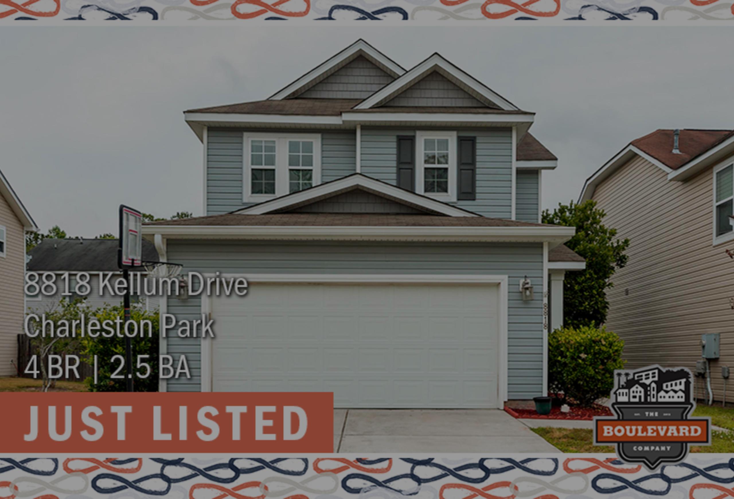 new listing: 8818 Kellum Drive in North Charleston