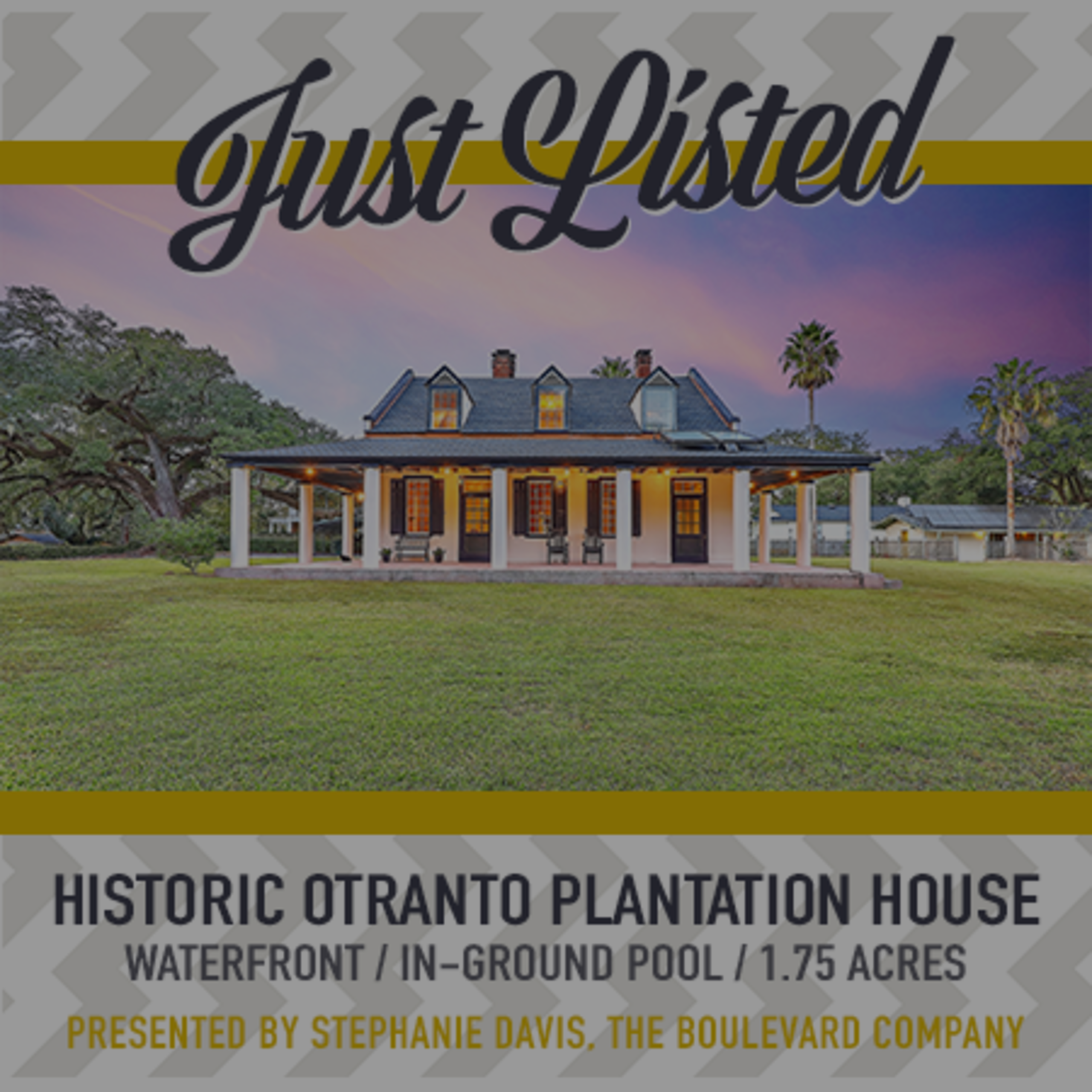 New Listing: Historic Otranto Plantation House