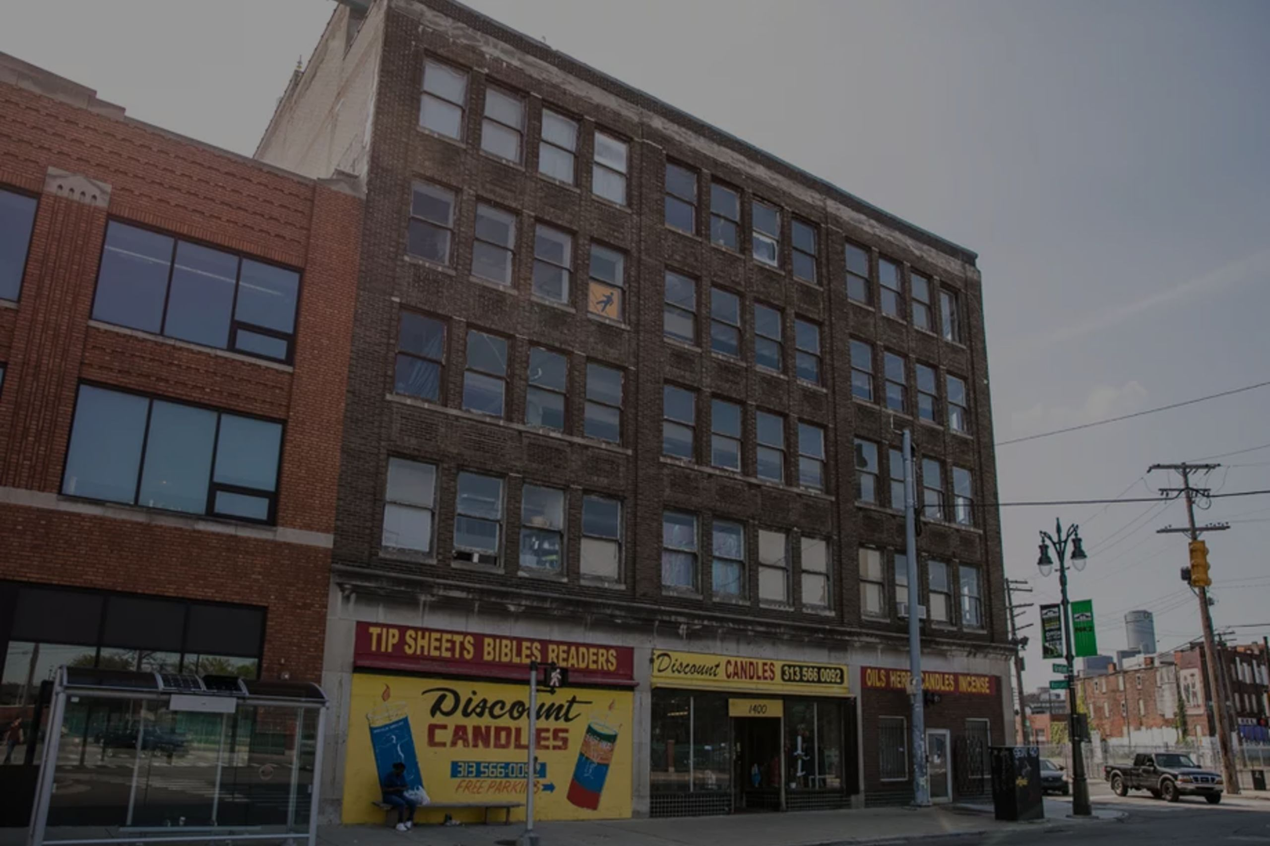 Building in Eastern Market Detroit Lists for $1,995,000