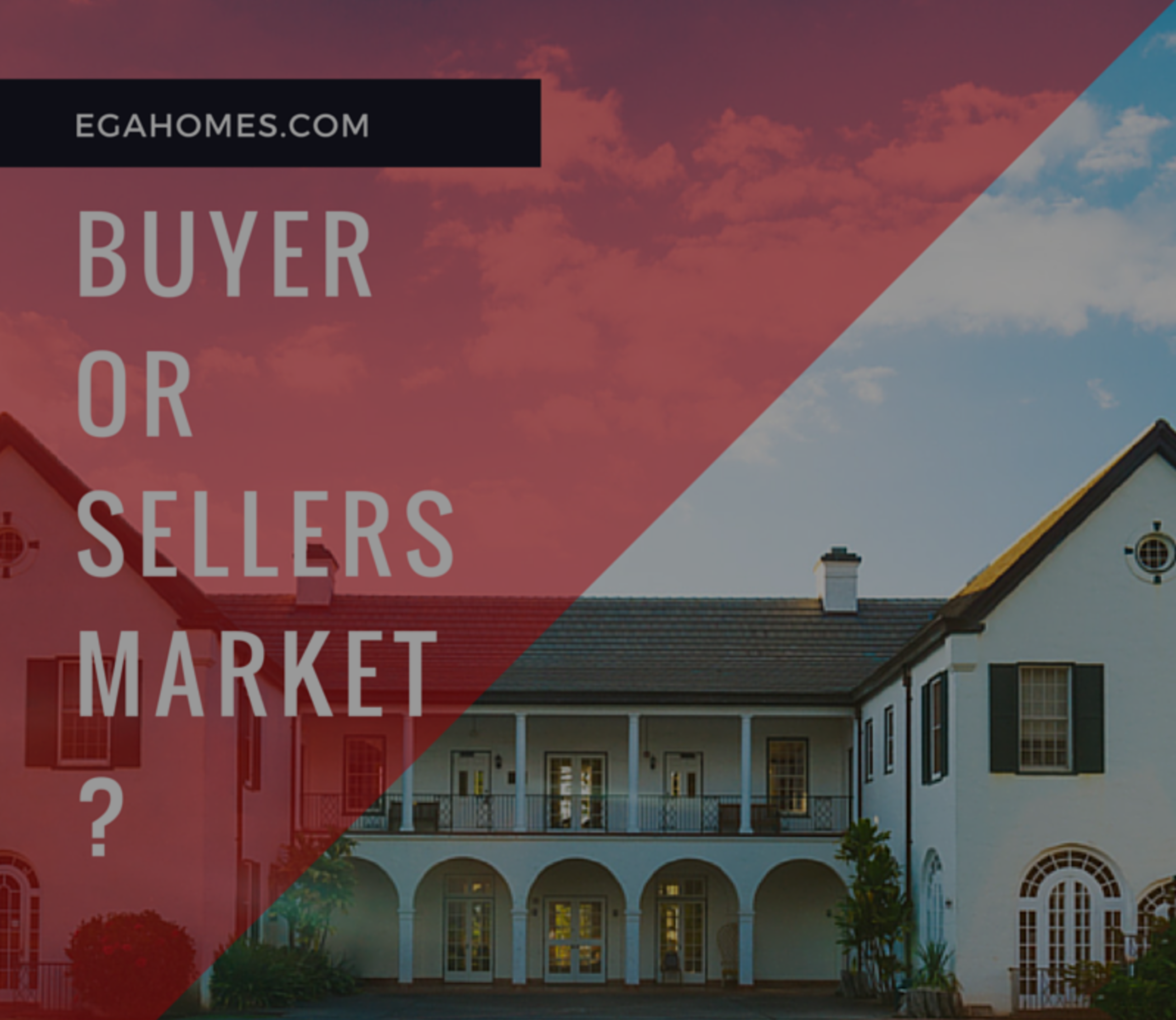 Is Riverside a Buyers or Sellers Market Right Now?