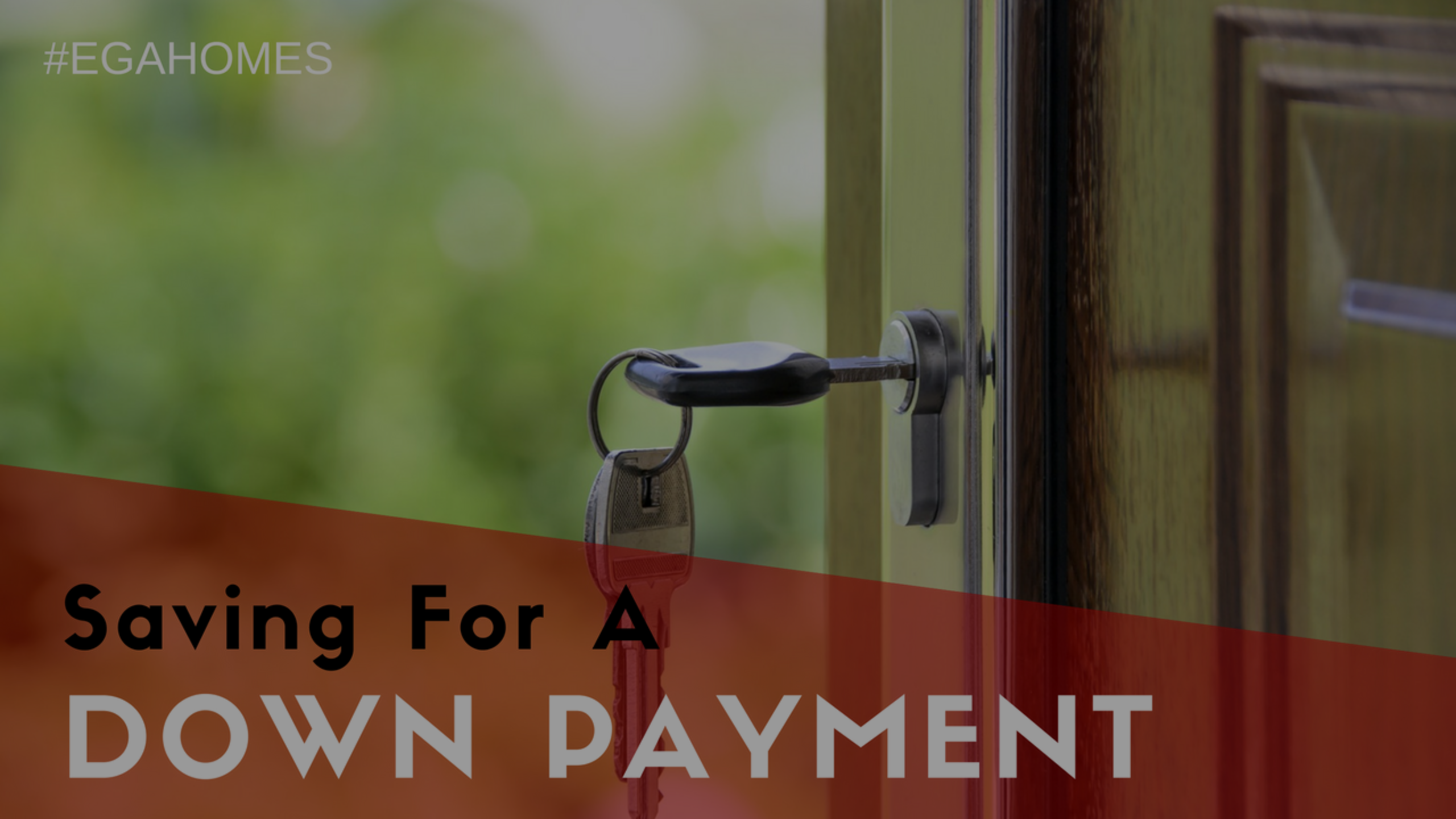 Ways to Save for a Down Payment