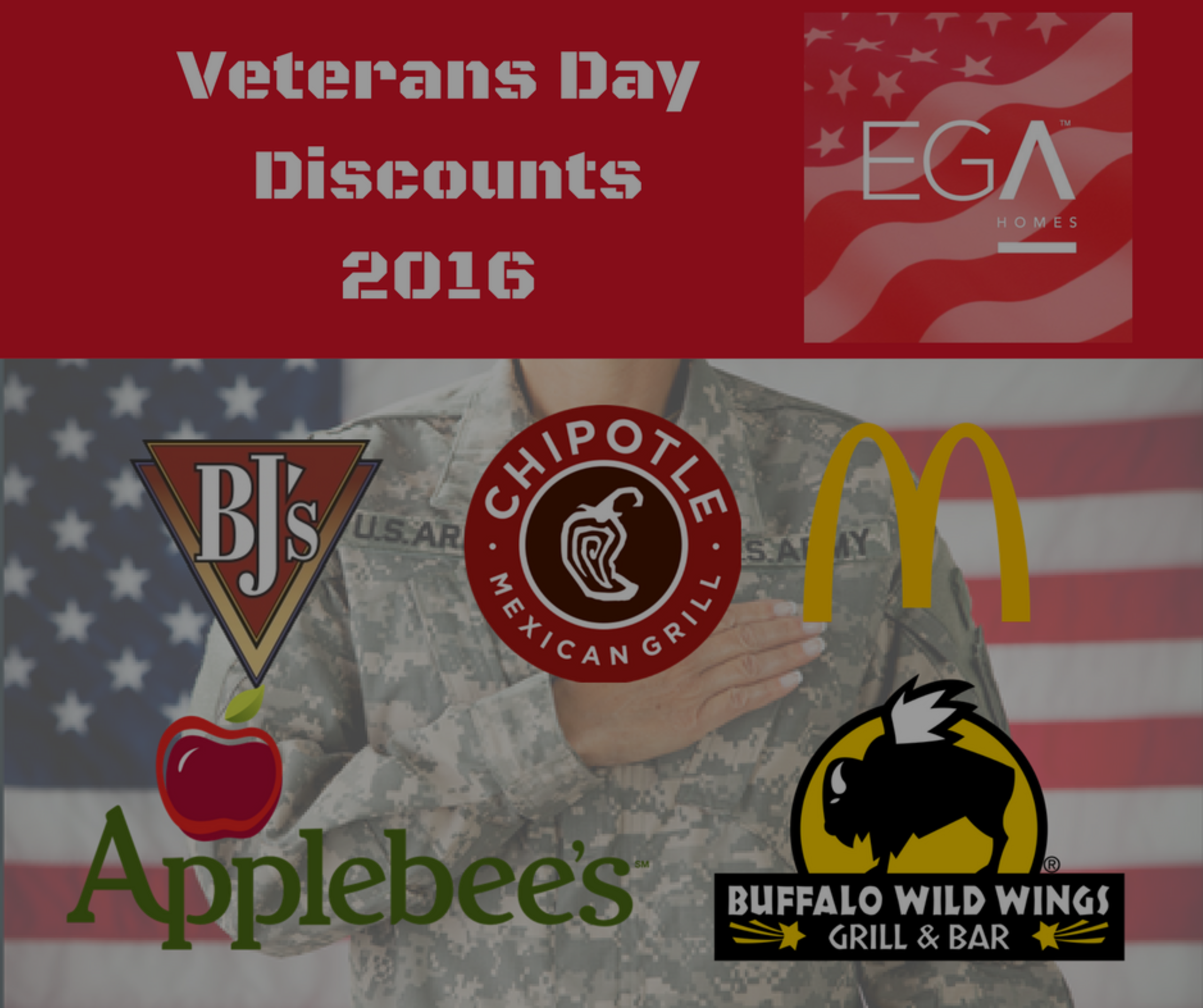 Veterans Day Military Discounts