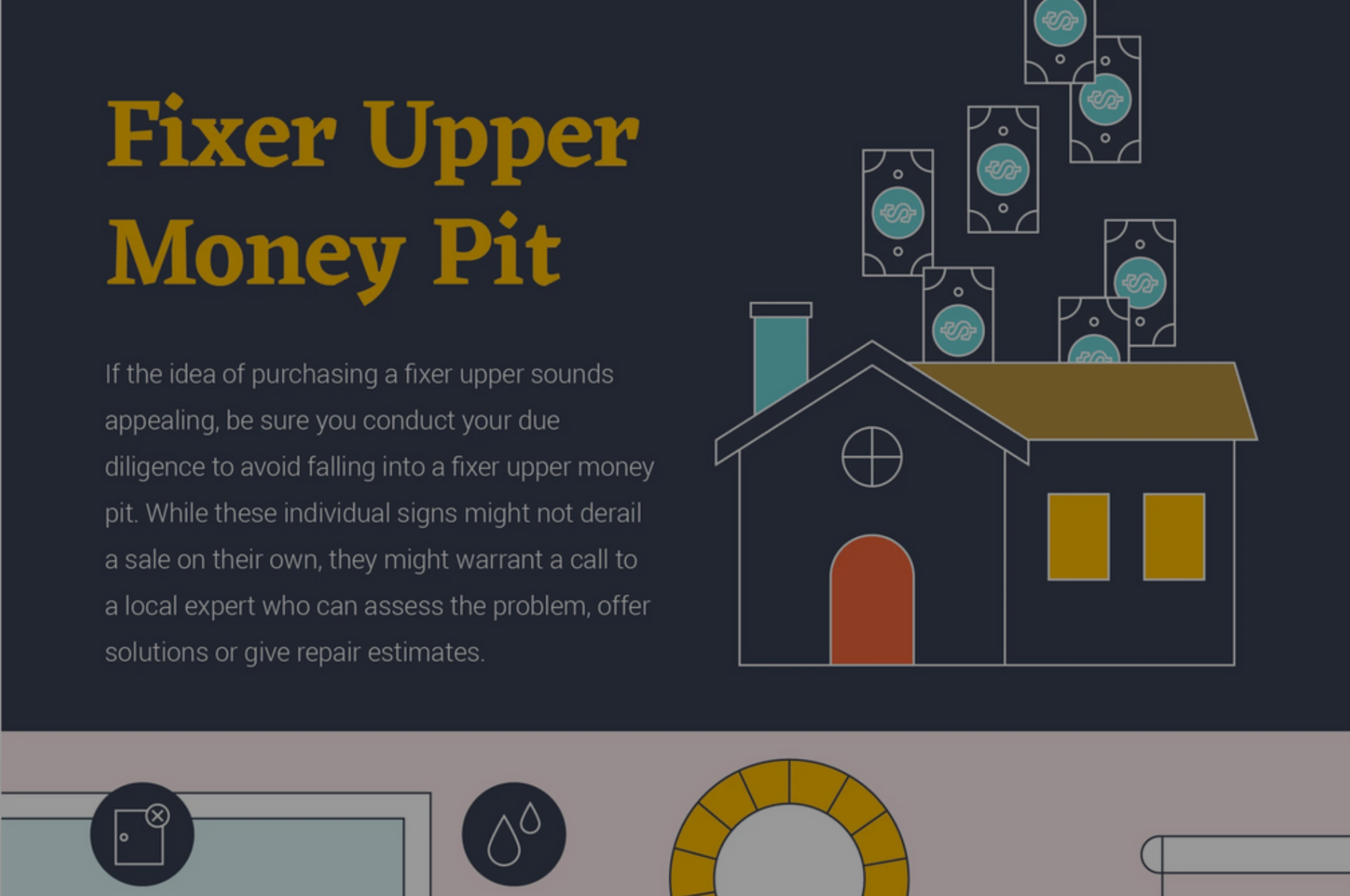 Avoid Falling Into a Fixer Upper Money Pit | Infograhpic