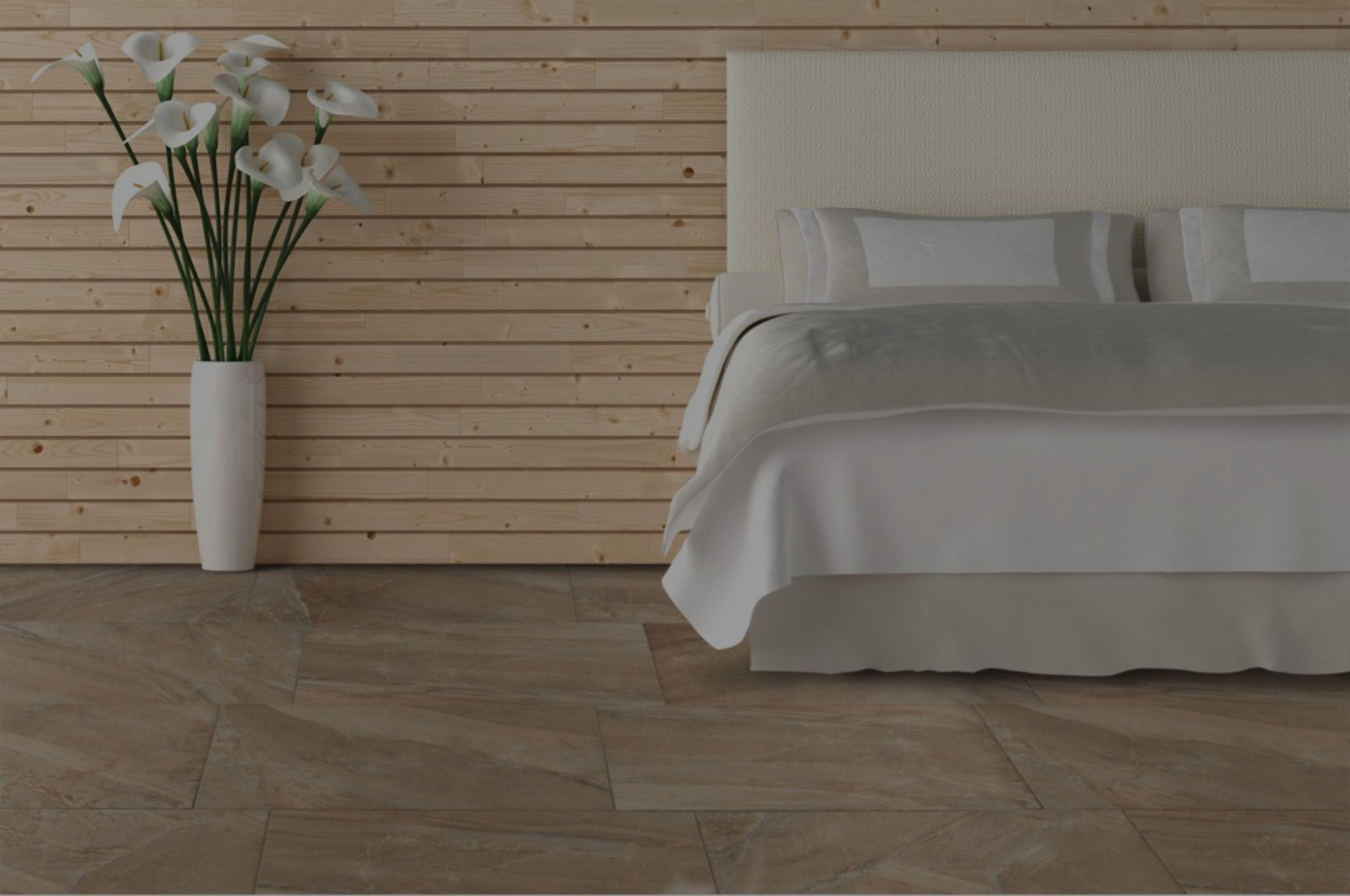 Tile:  Ceramic or Porcelain / Matte or Glazed