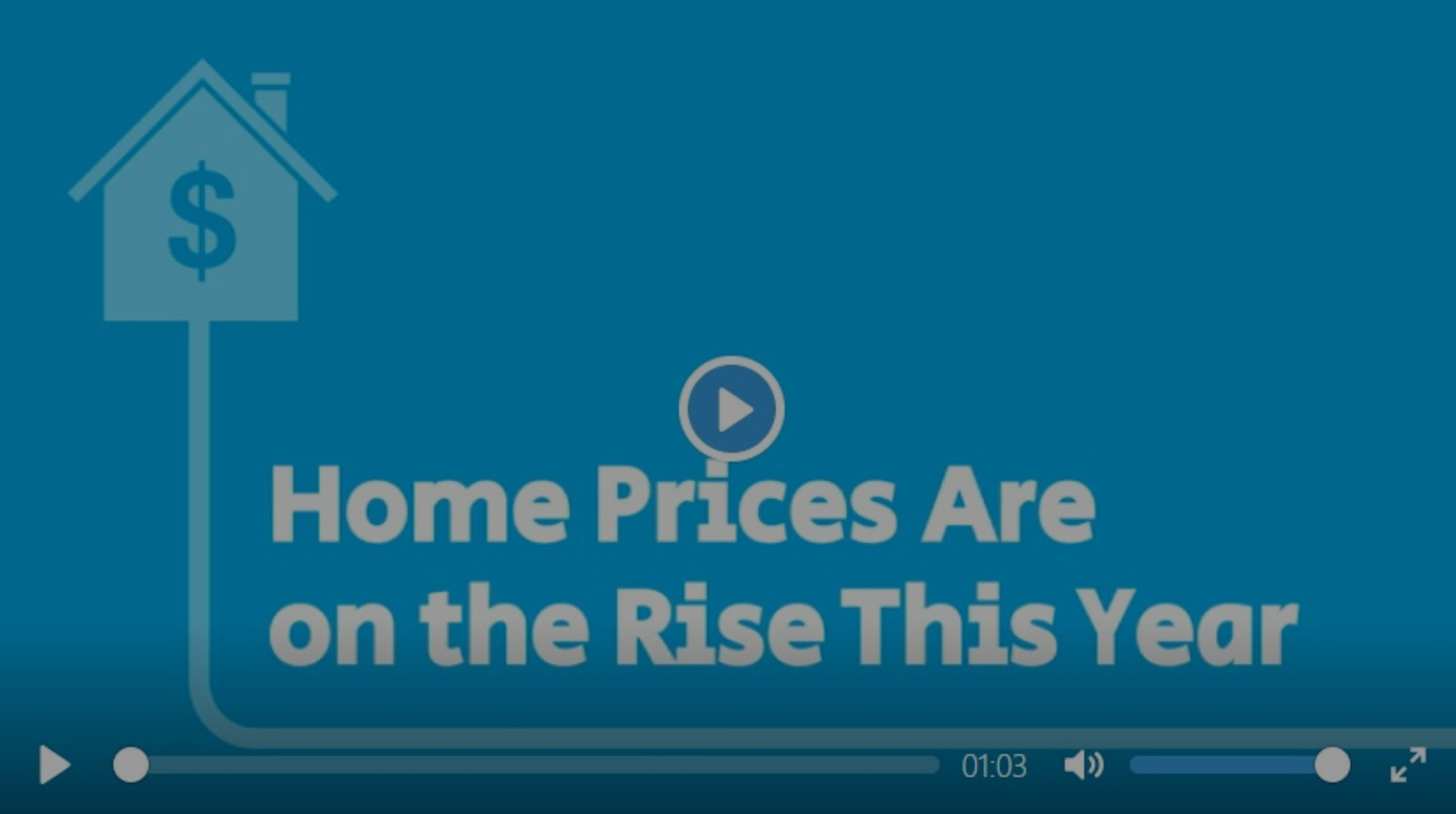 Home Prices Are on the Rise This Year