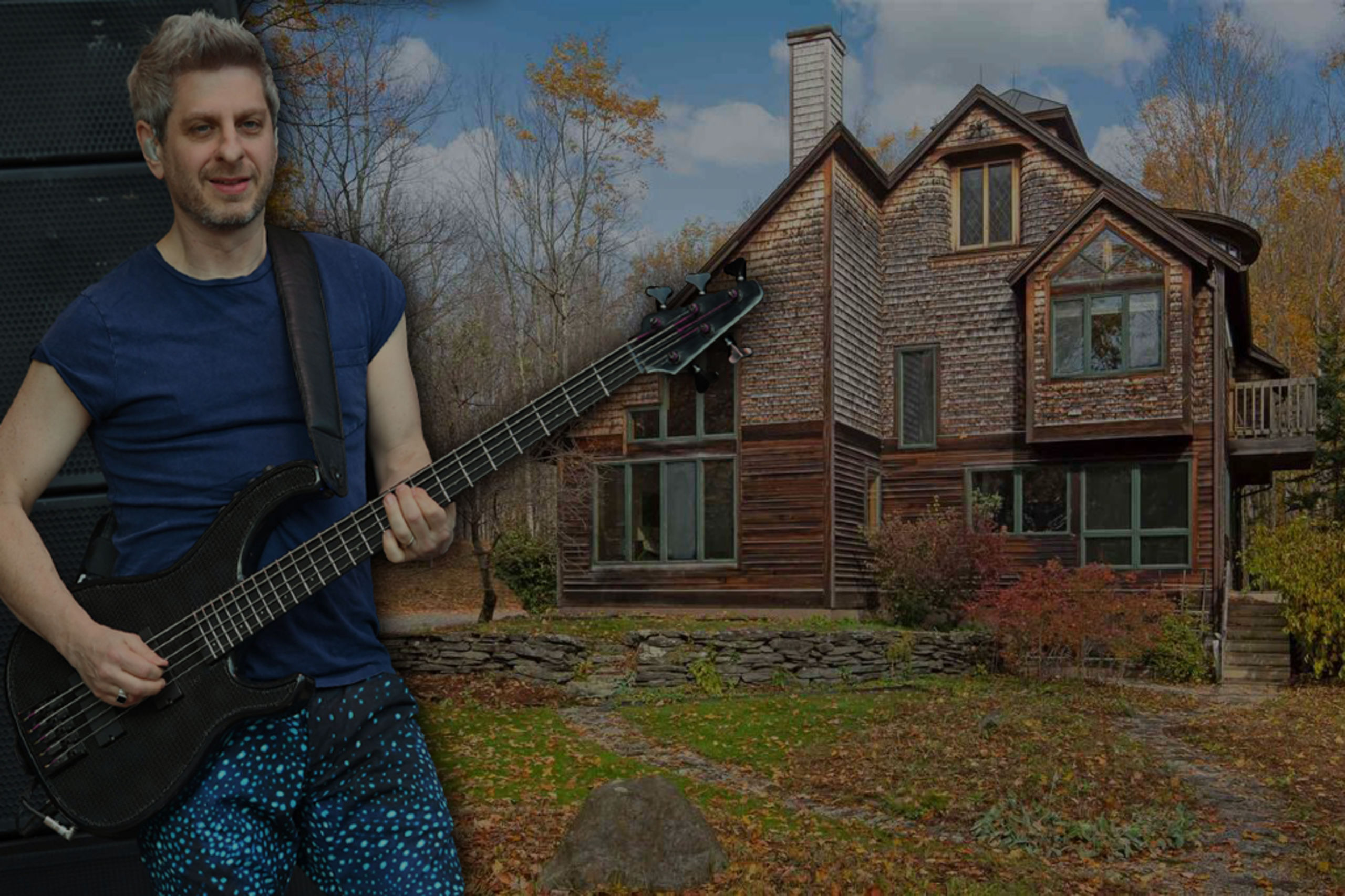 Phish Bassist Mike Gordon Selling Cool Country Home in Vermont for $895K