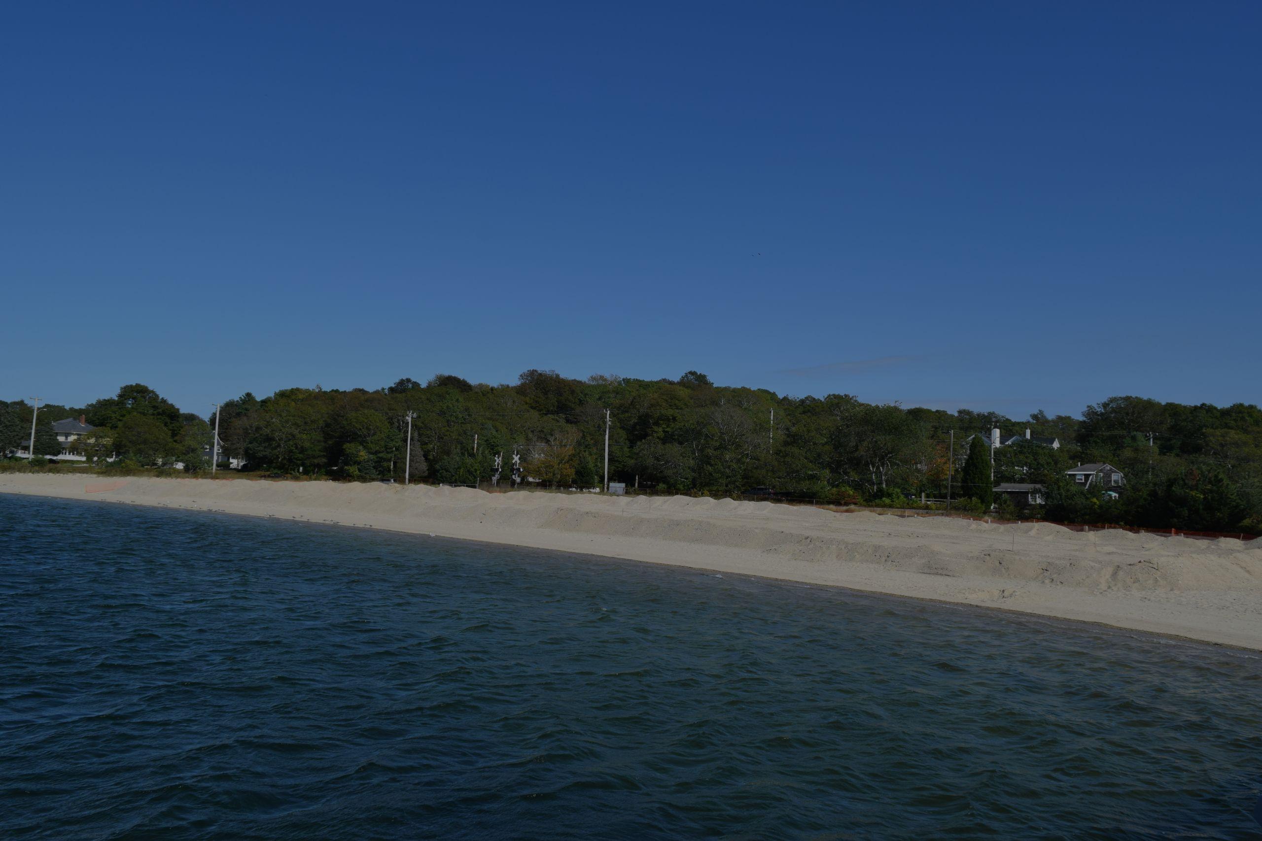 dredging cape cod monument beach and barlows landing beach