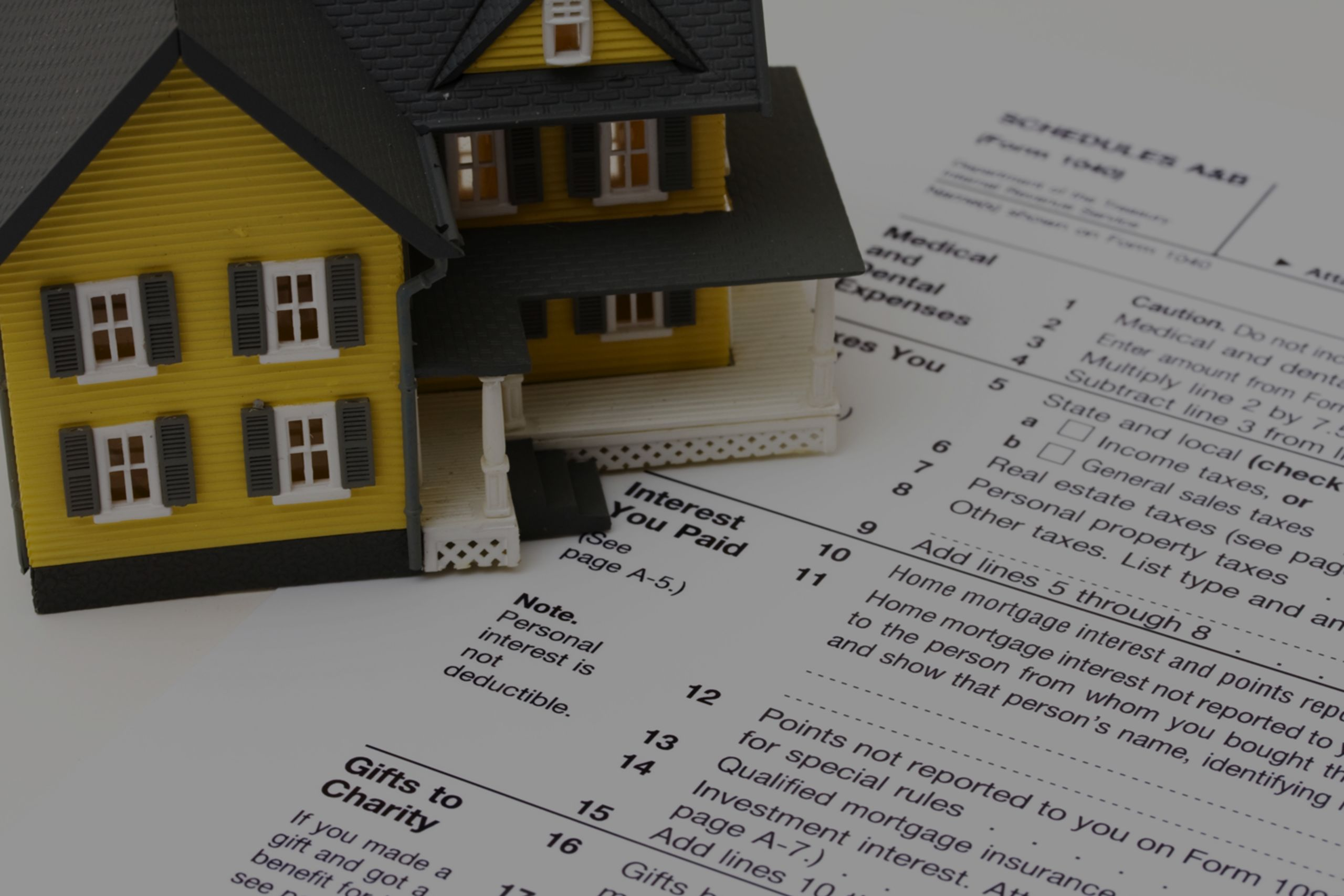 Don't Miss These Home Tax Deductions
