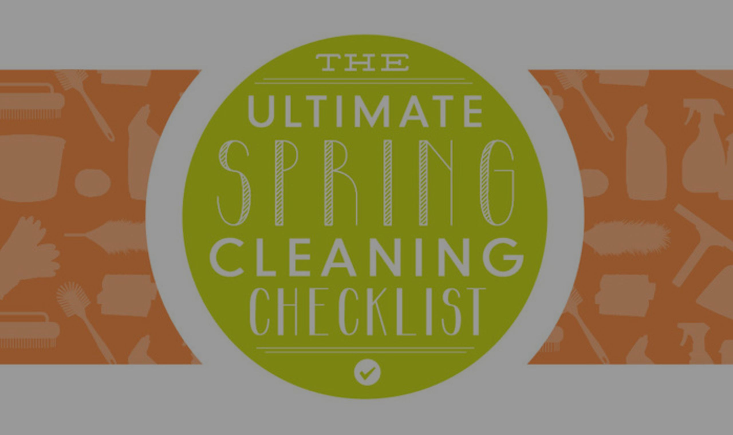 The Ultimate Spring Cleaning Checklist from BrightNest.com