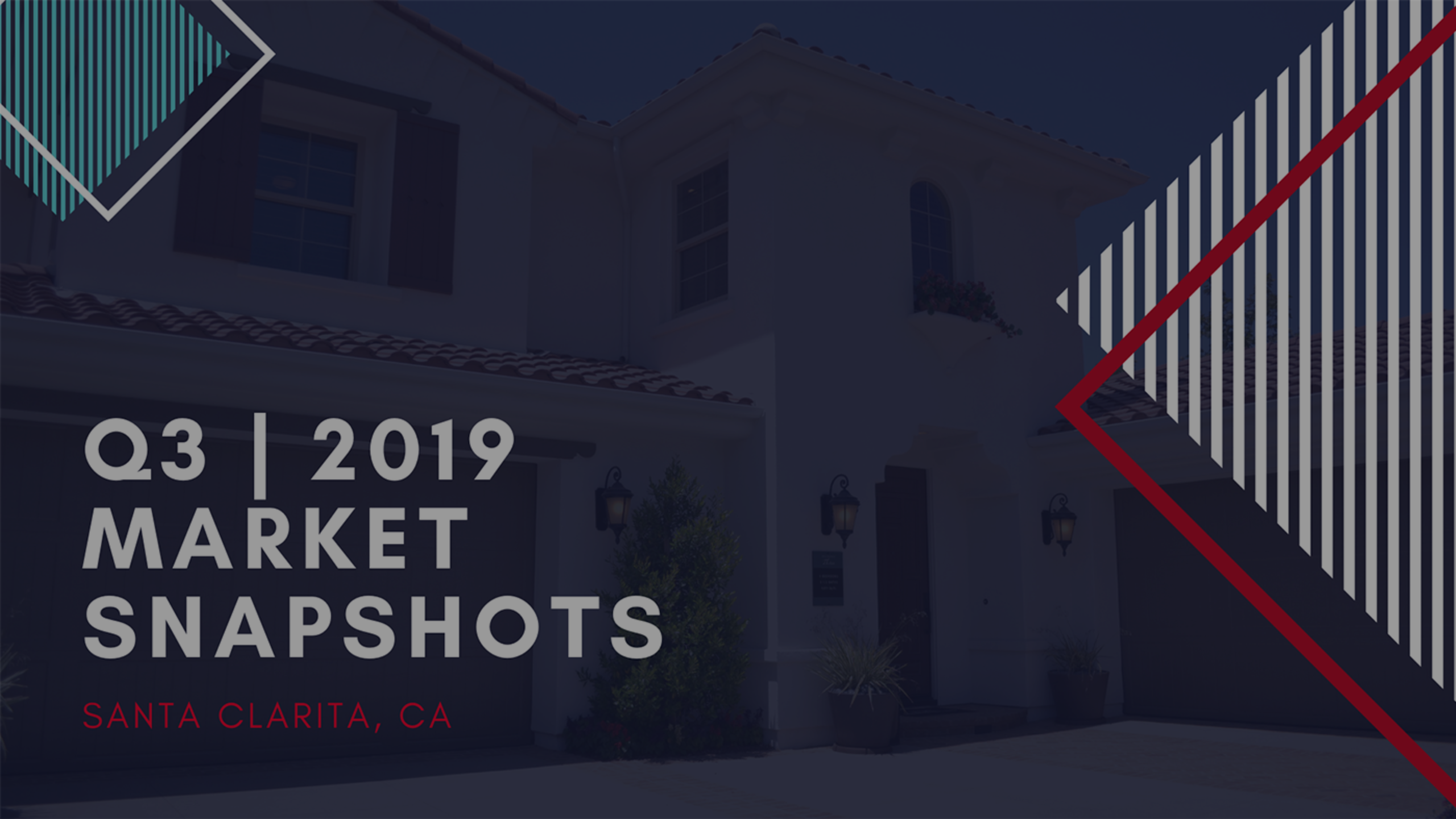 Q3 | 2019 -Real Estate Market Snapshots of Santa Clarita, Ca