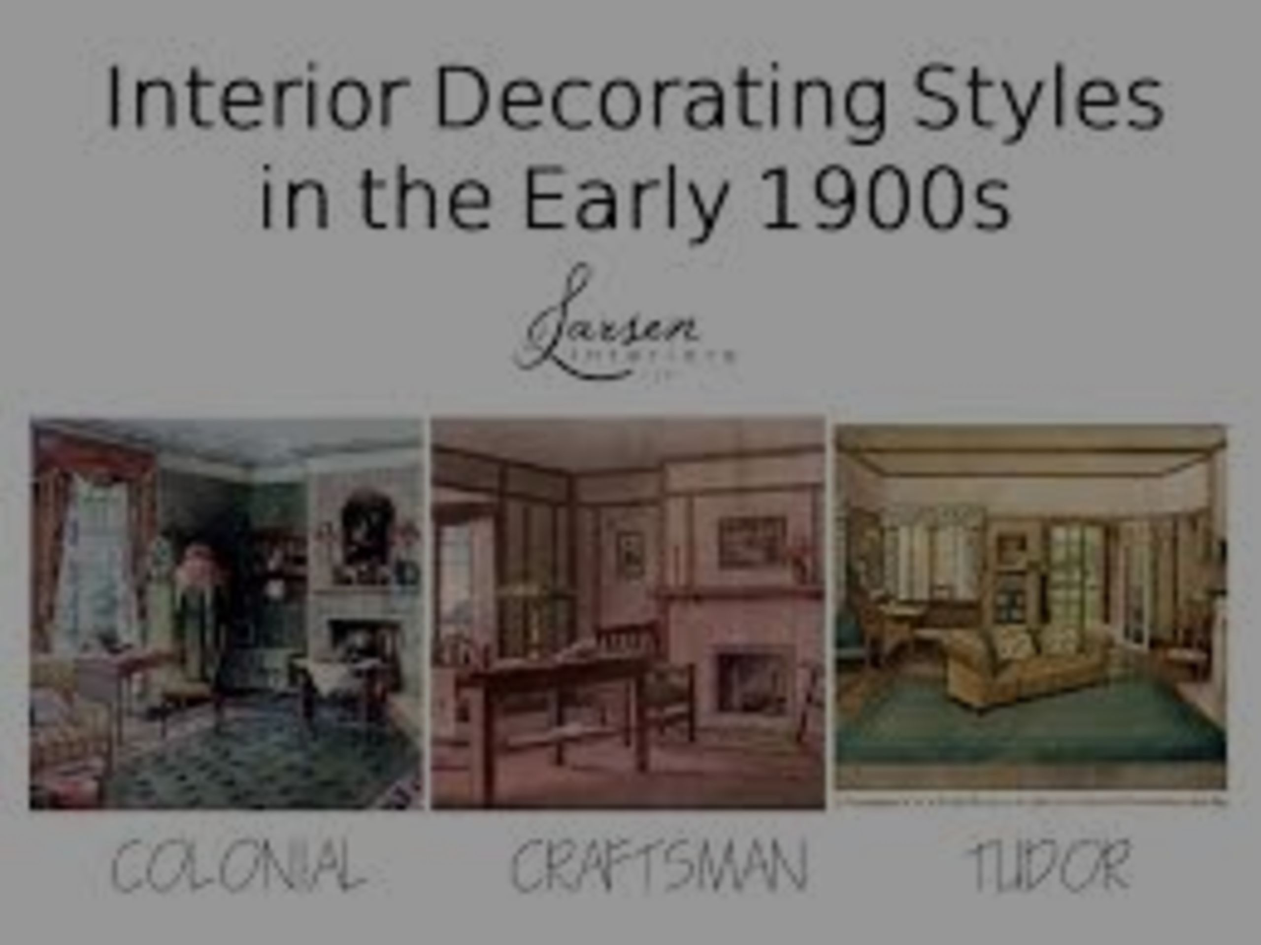 DESIGN THROUGH THE DECADES