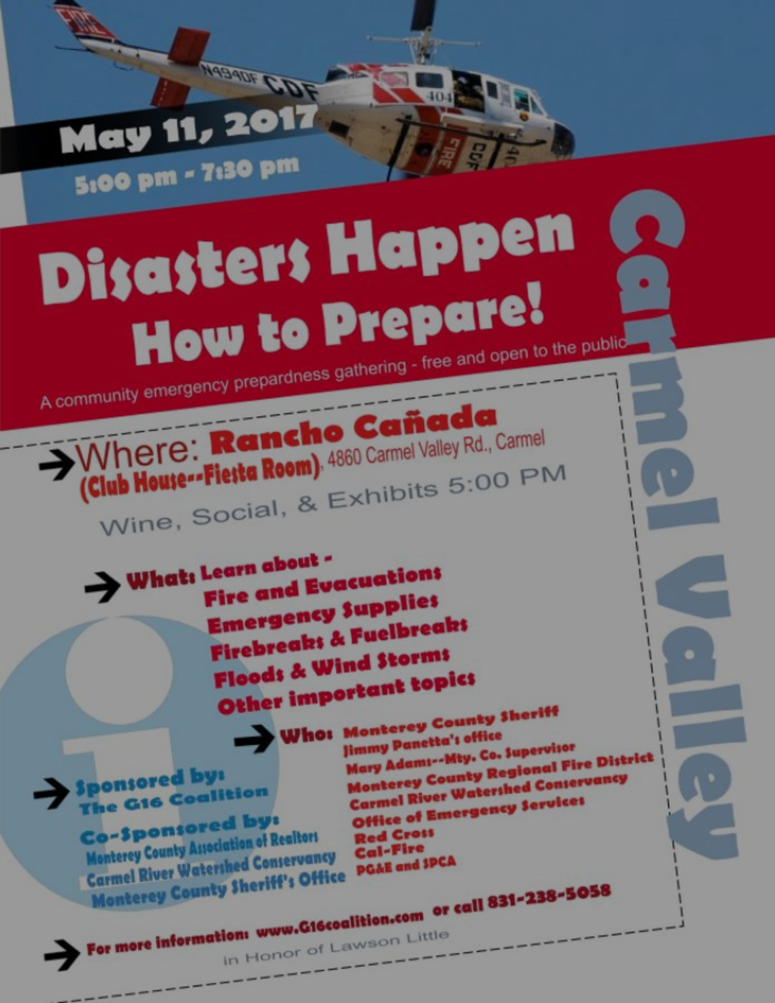 Emergency Preparedness Meeting May 11