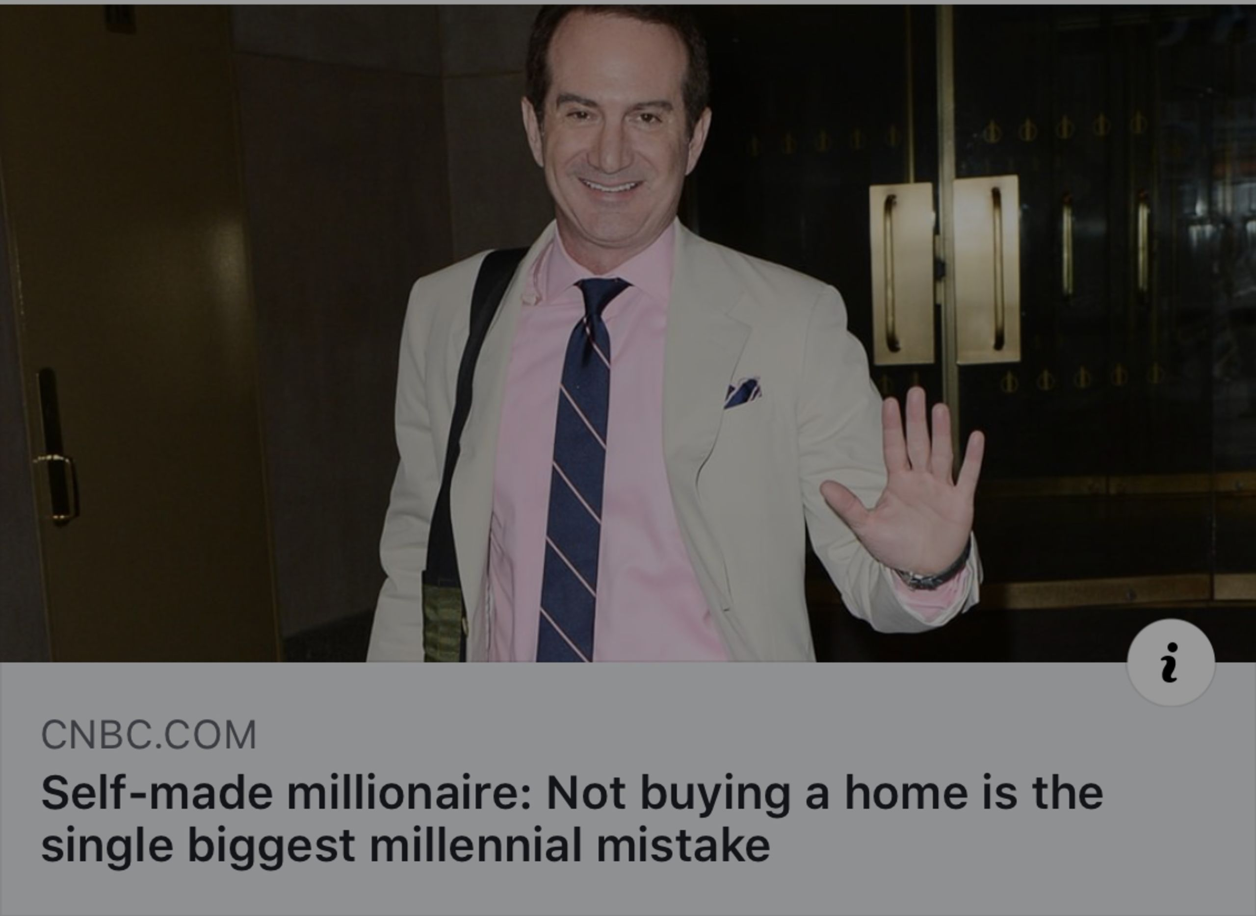 Self-made millionaire: Not buying a home is the single biggest millennial mistake