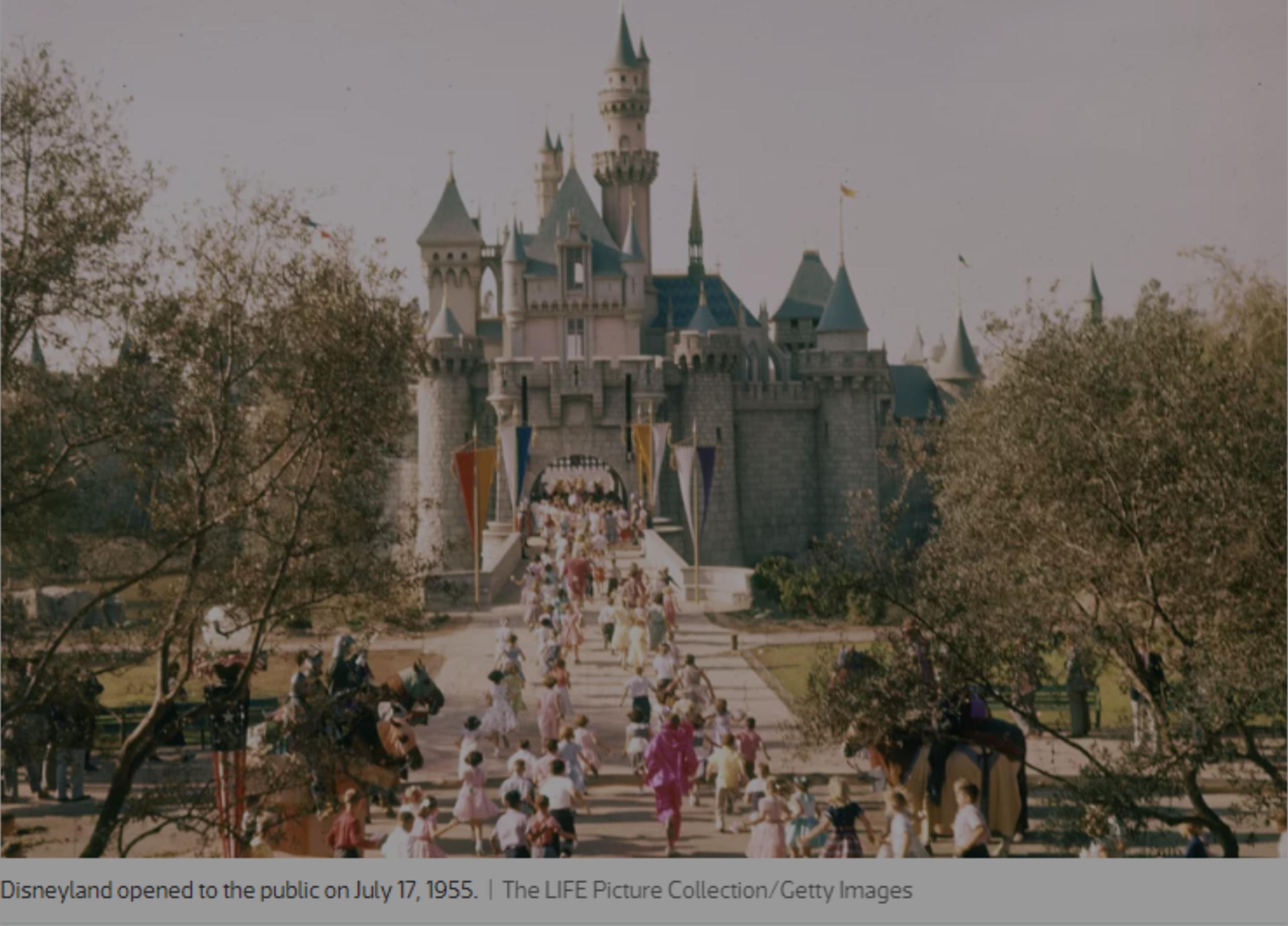 All in it's time-Original Disneyland
