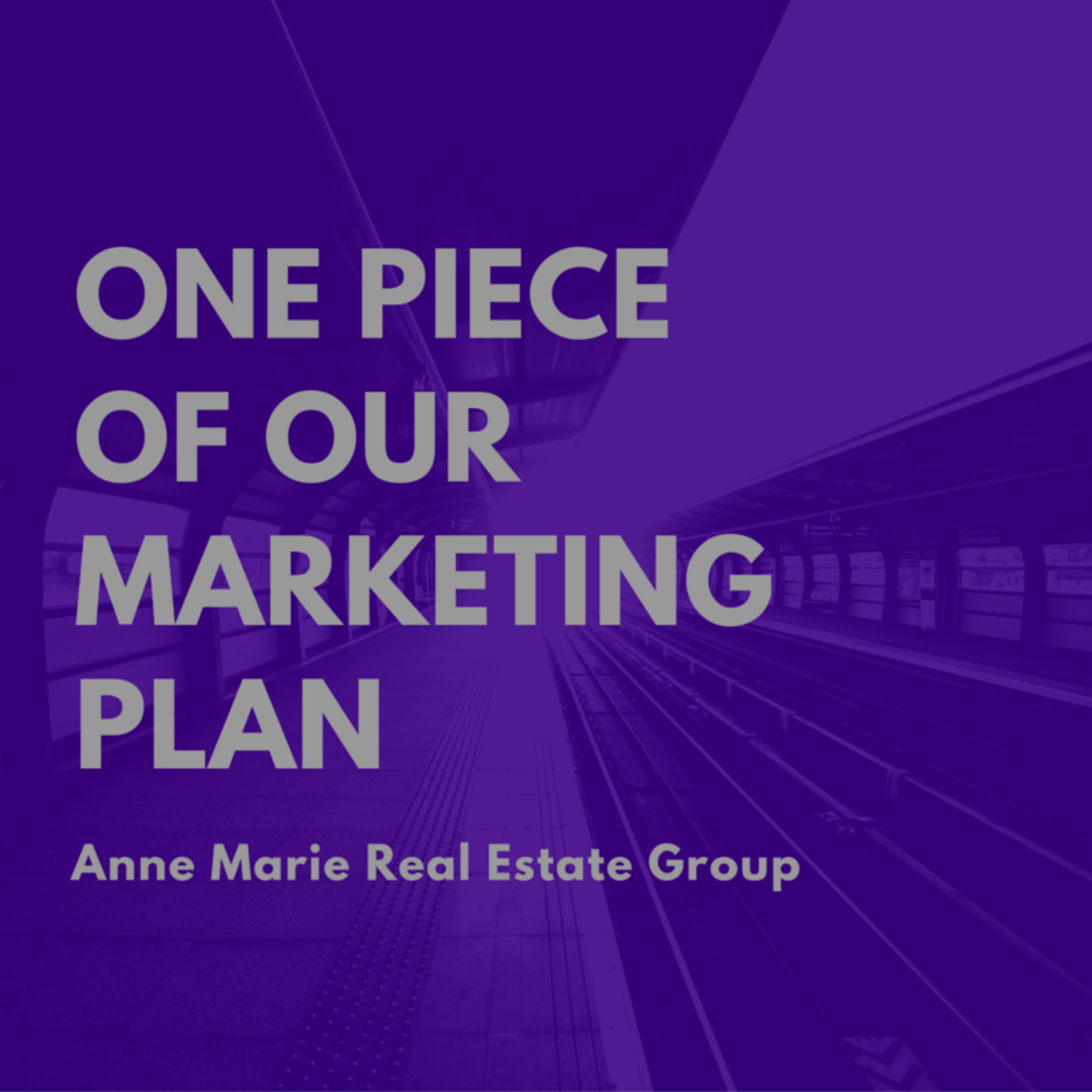 One Piece of Our Marketing Plan