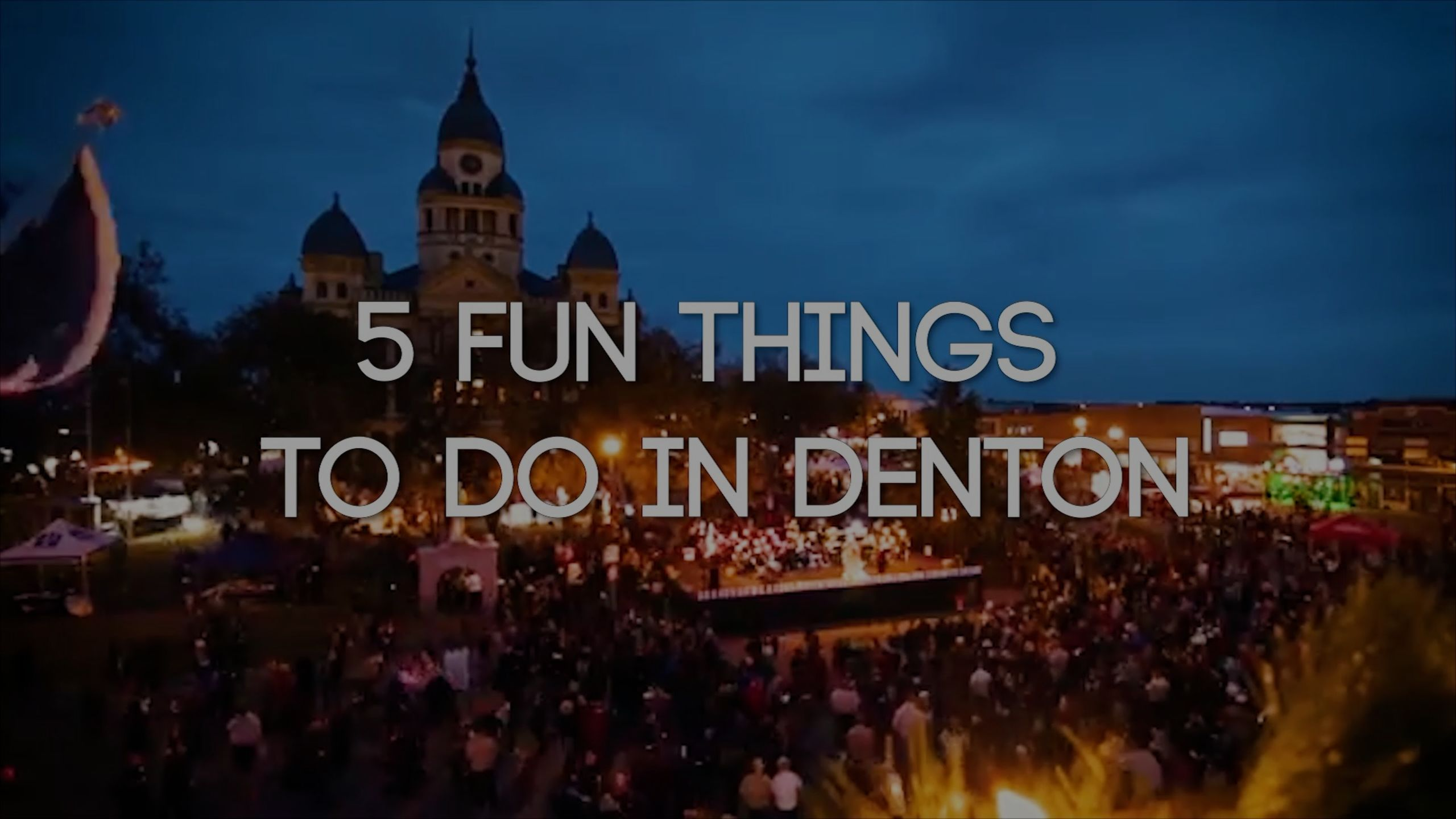 5 Things to Discover in Denton, Texas