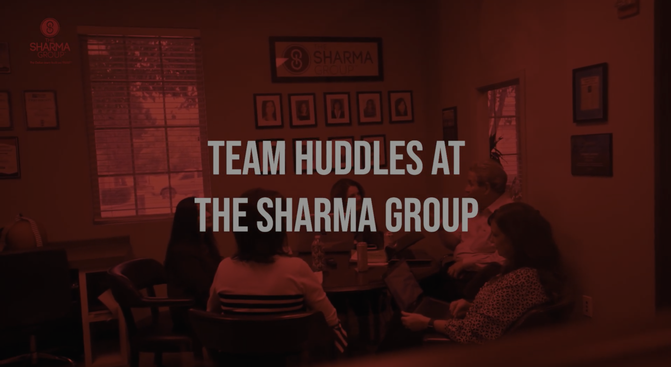 Team Huddles at The Sharma Group