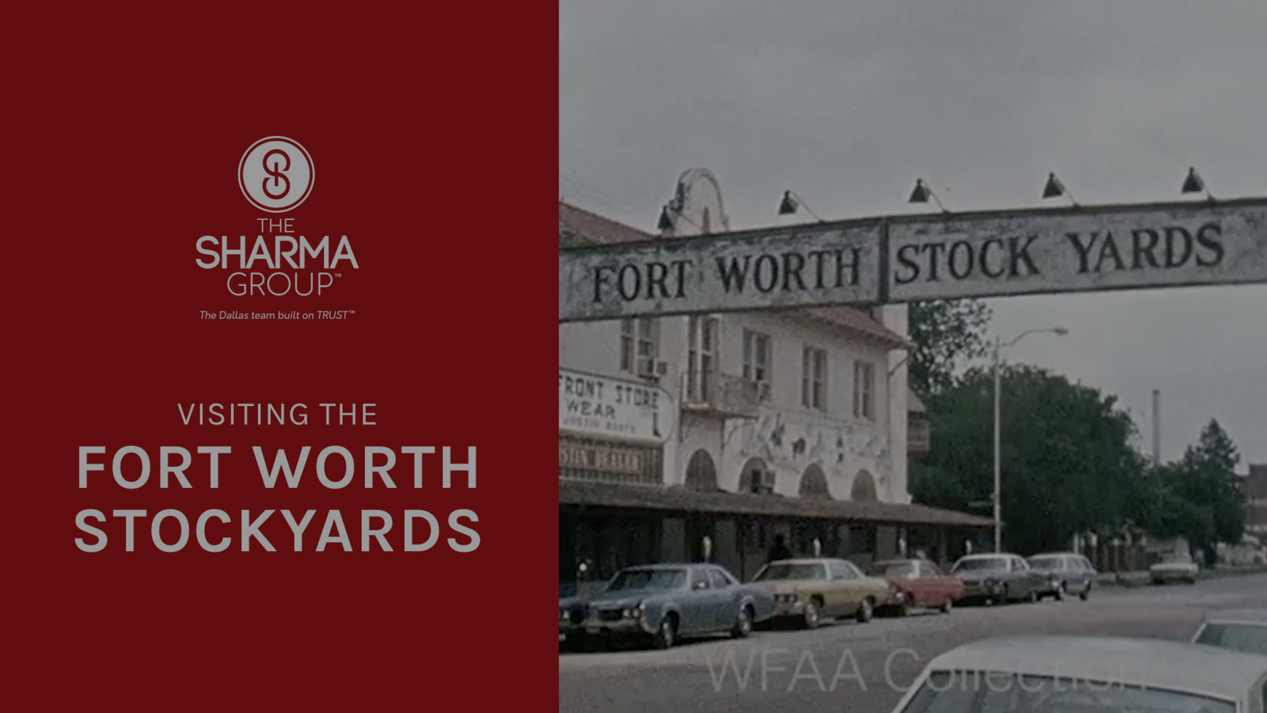 Fort Worth Stockyards | The Sharma Group