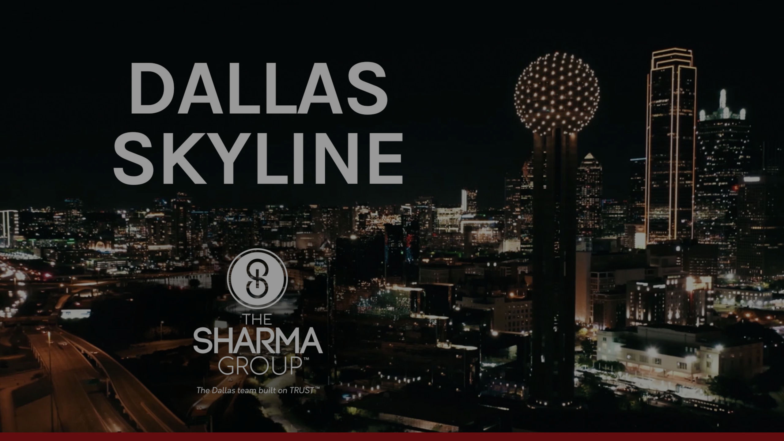 Dallas Skyline | The Sharma Group