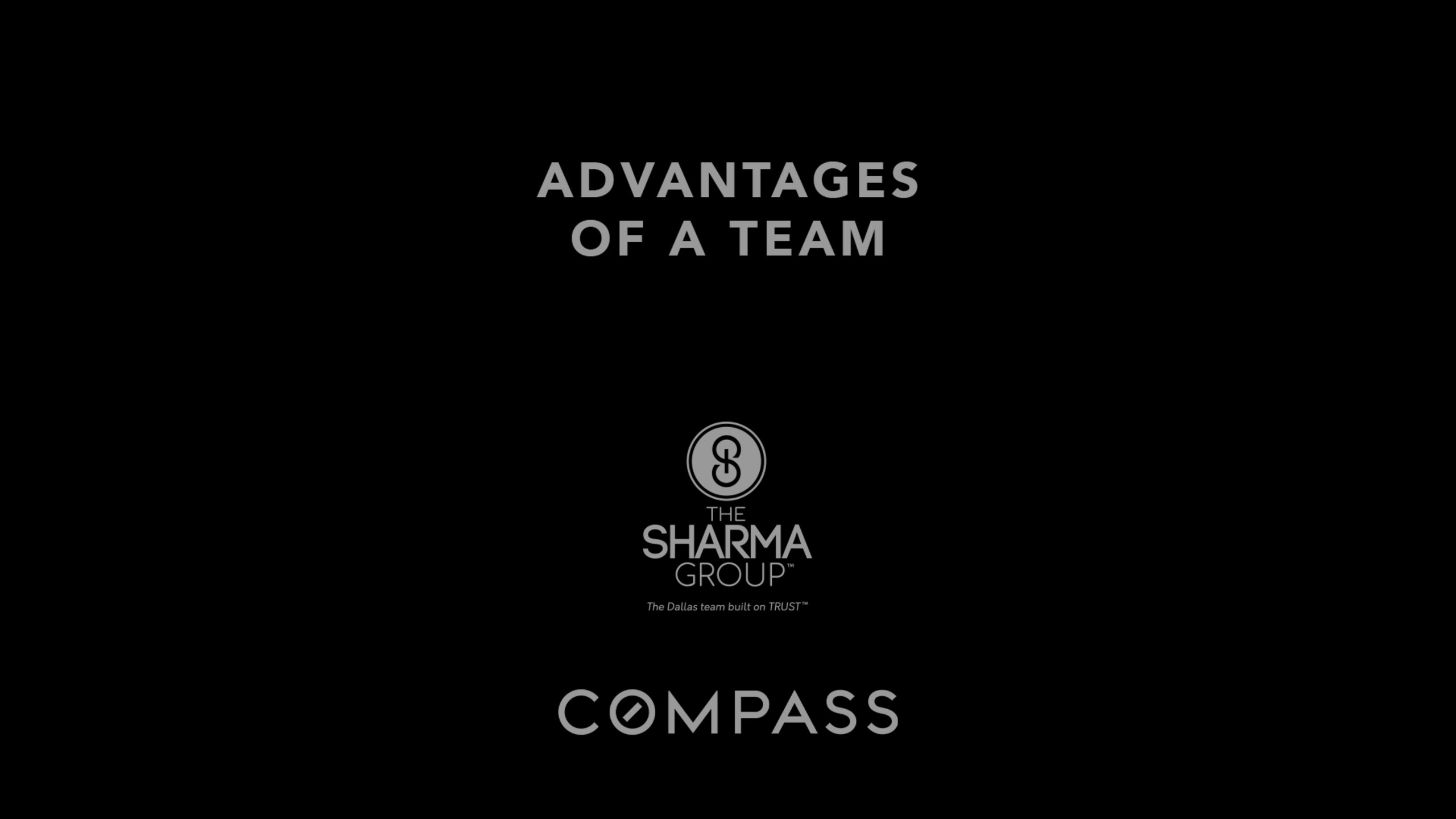 Why Work With A Real Estate Team | The Sharma Group