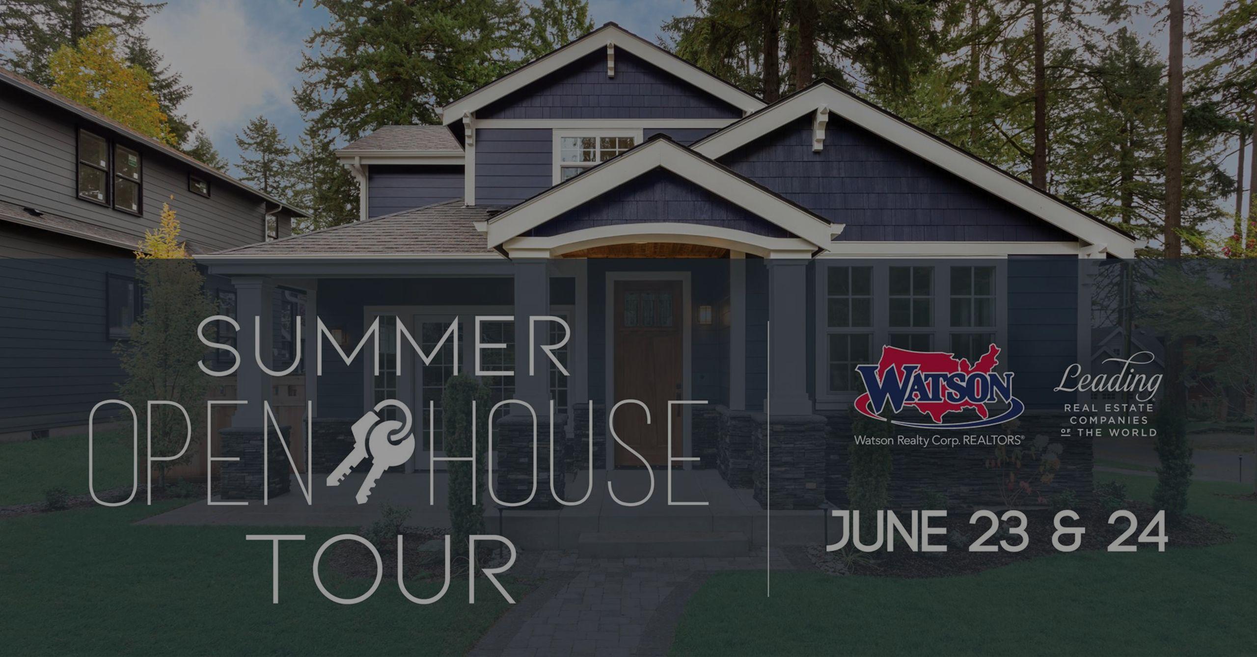 Summer Open House Tour!