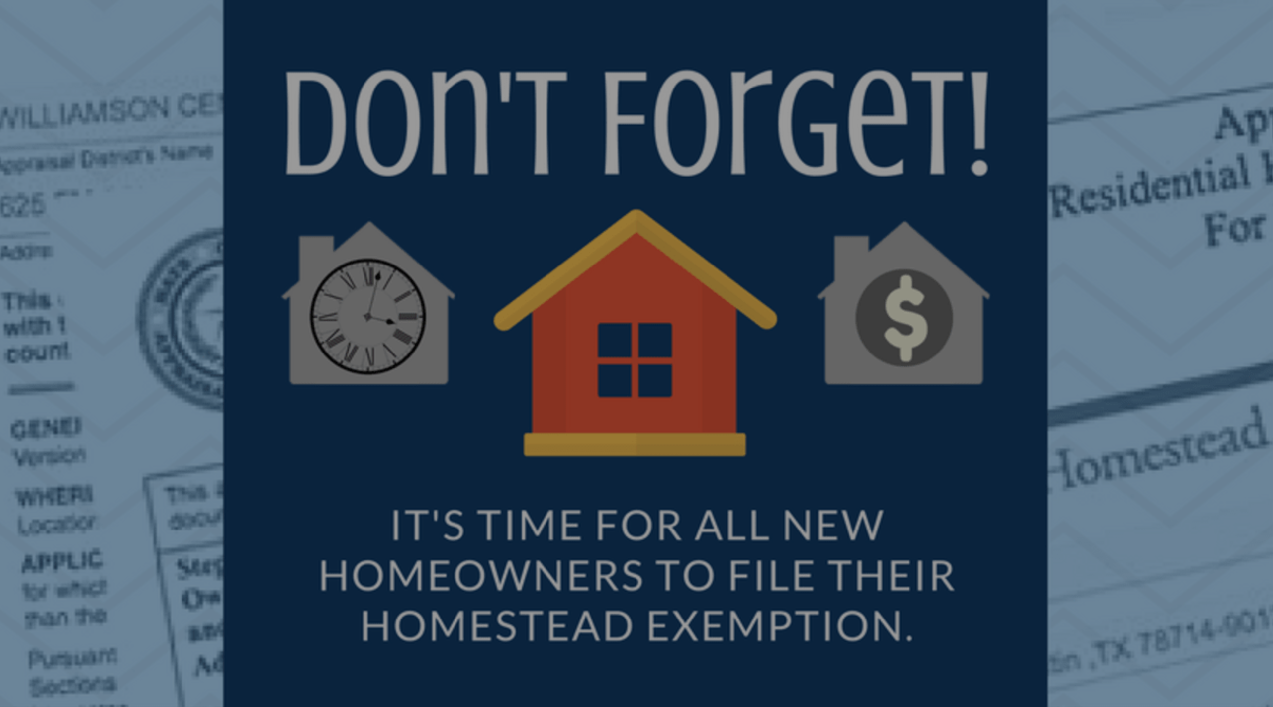 How to File Your 2019 Homestead Exemption