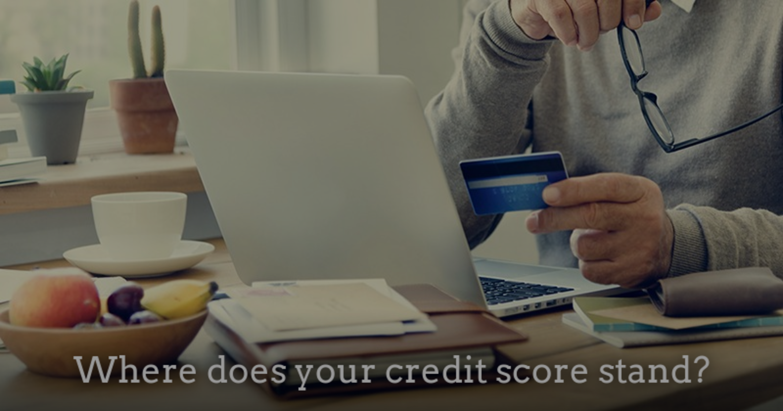 Where does you credit score stand?