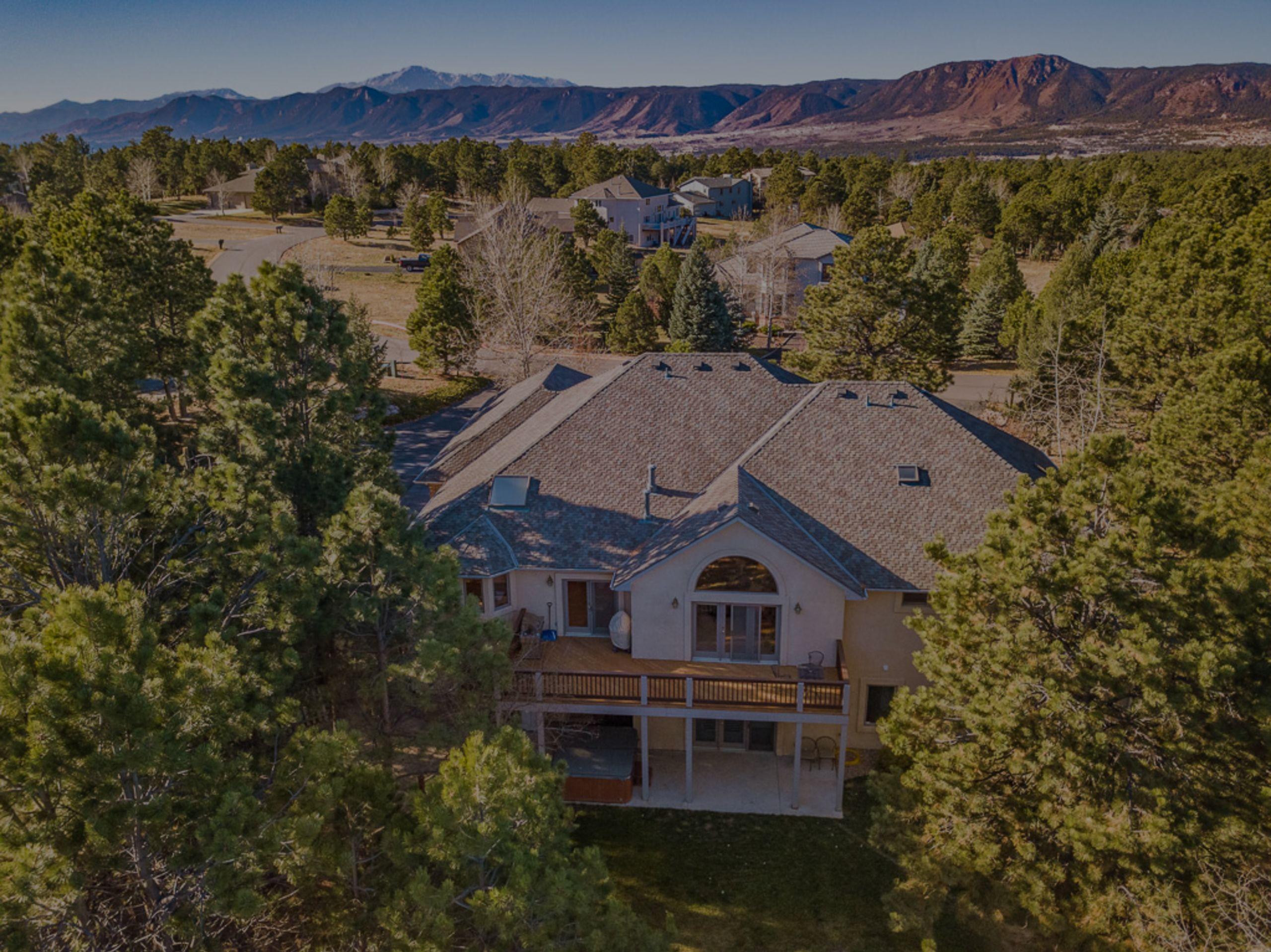Custom Woodmoor Highlands home on nearly 3/4 acres