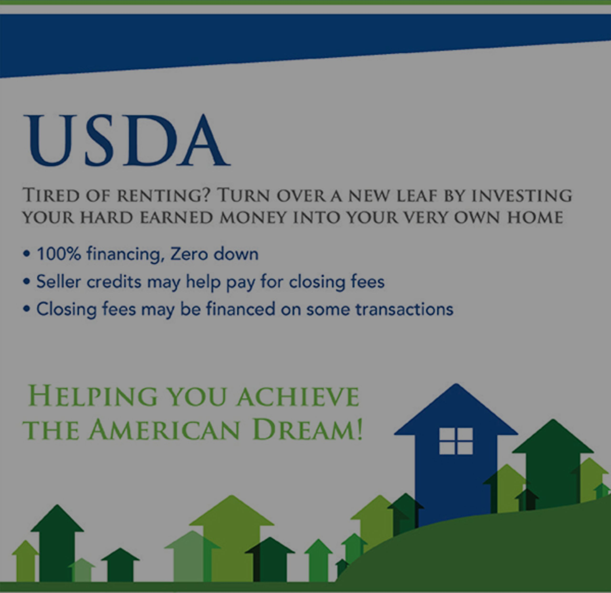 USDA Loan Update