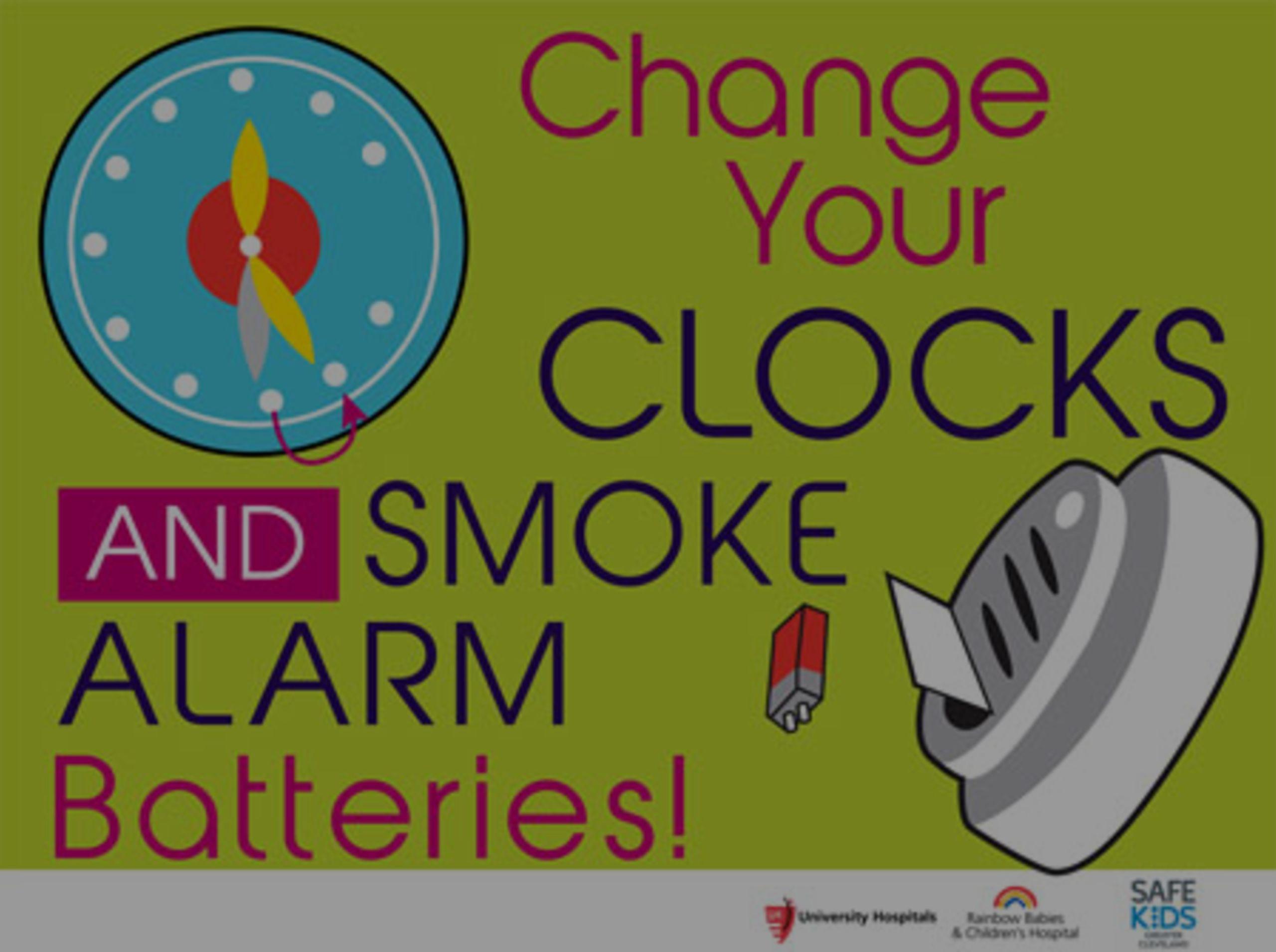 Spring Ahead, Check Those Smoke Detectors!
