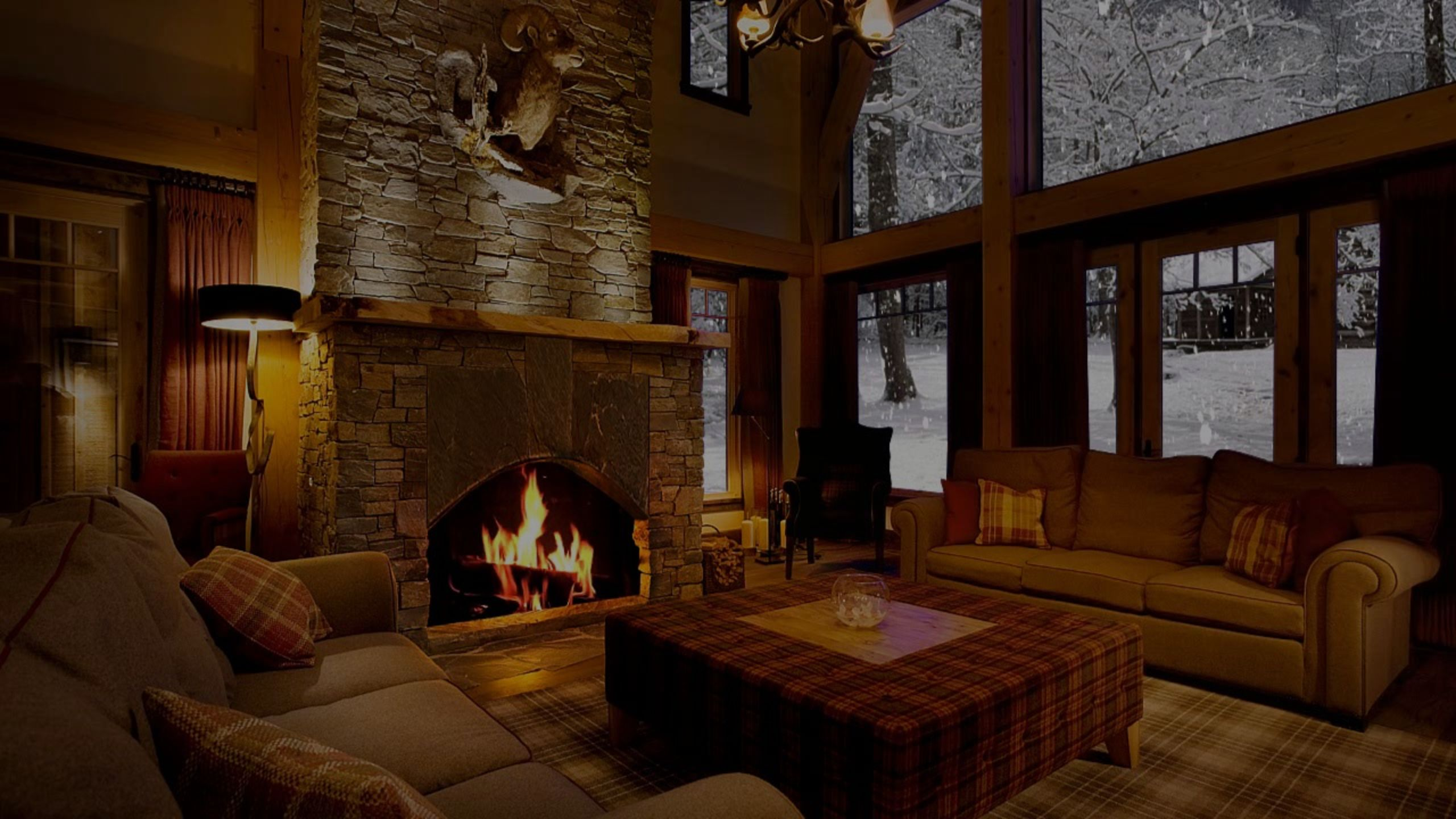 Will You Be Keeping Warm By A Fireplace This Blustery Weekend?
