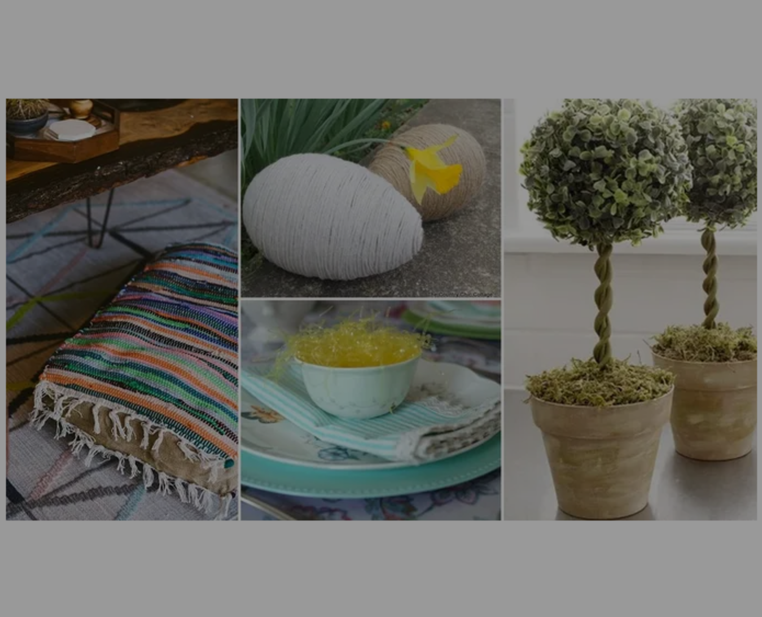 7 Spring Decor Ideas From Your Local Dollar Store!