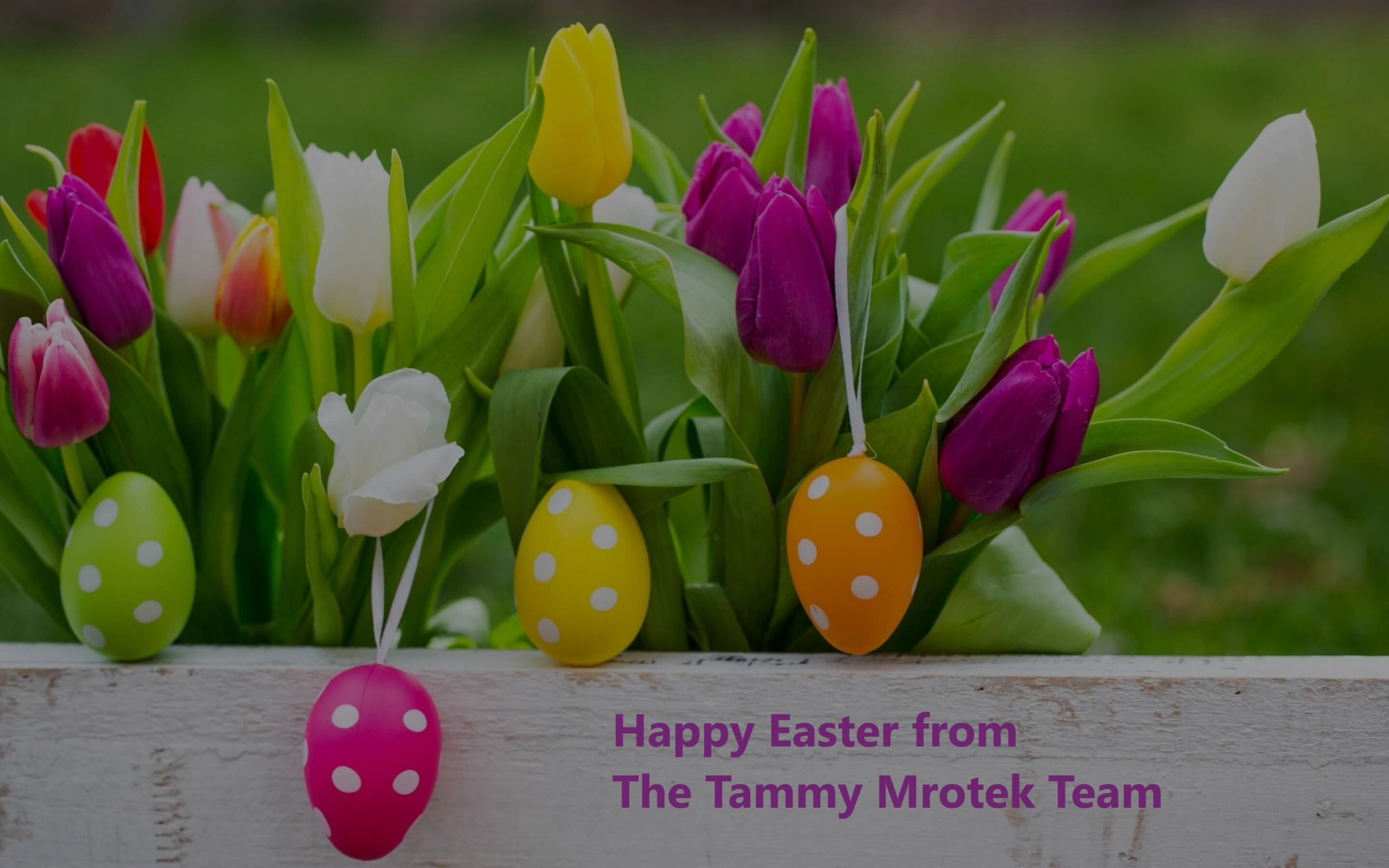 Happy Easter From The Tammy Mrotek Team, Easter 2019!