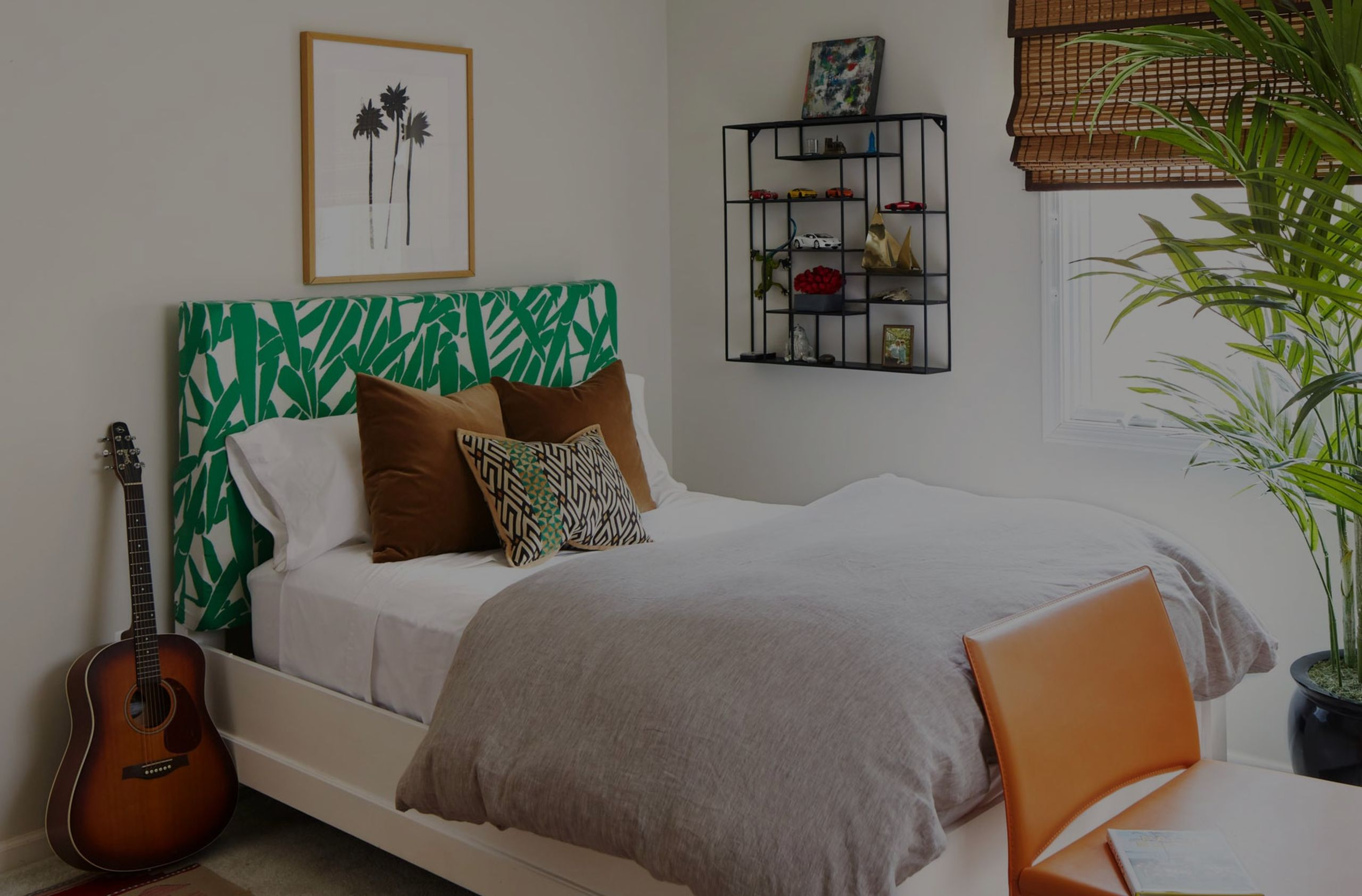 DIY Upholstered Headboards, Bold or Subtle?