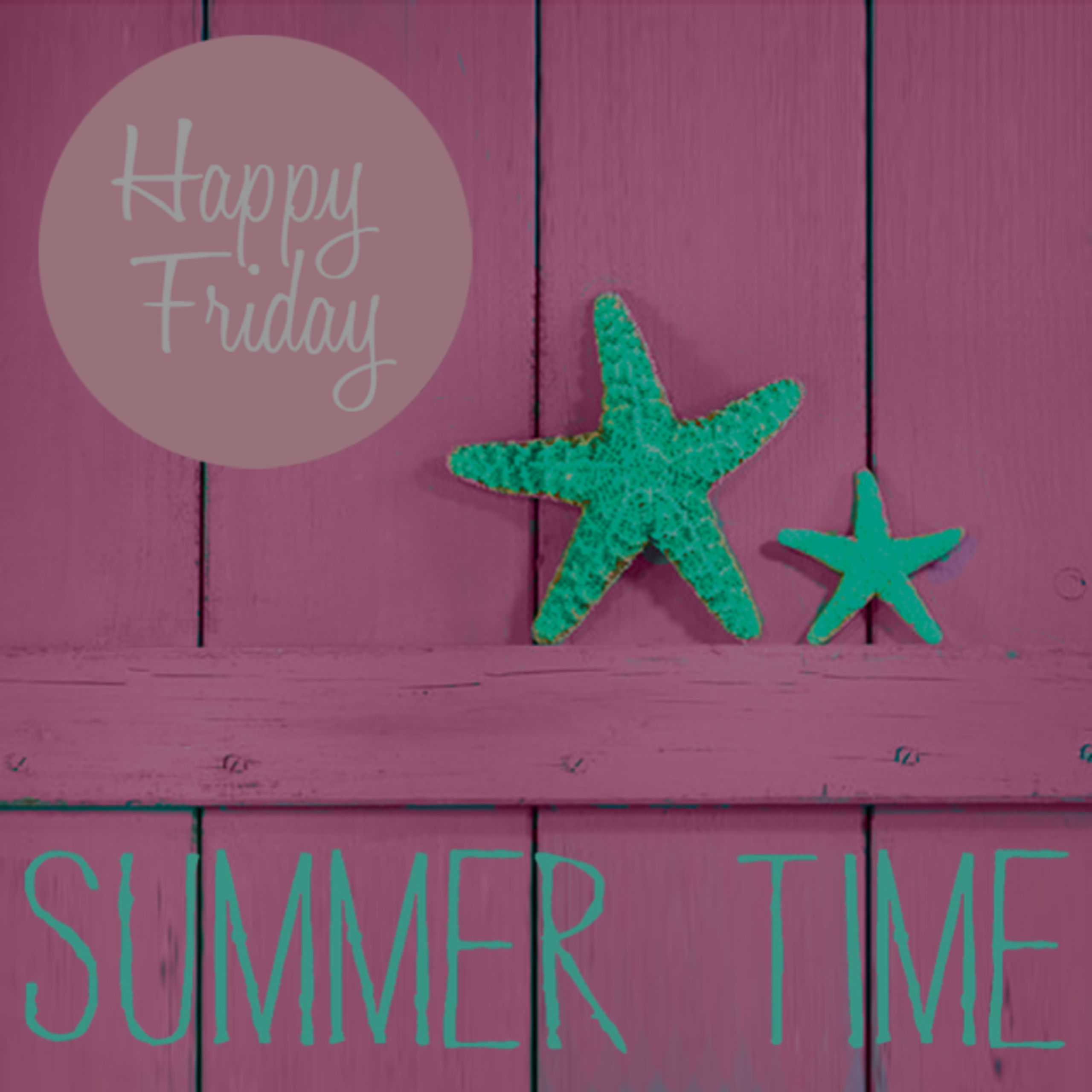 Happy Friday! Summer is Wrapping Up!
