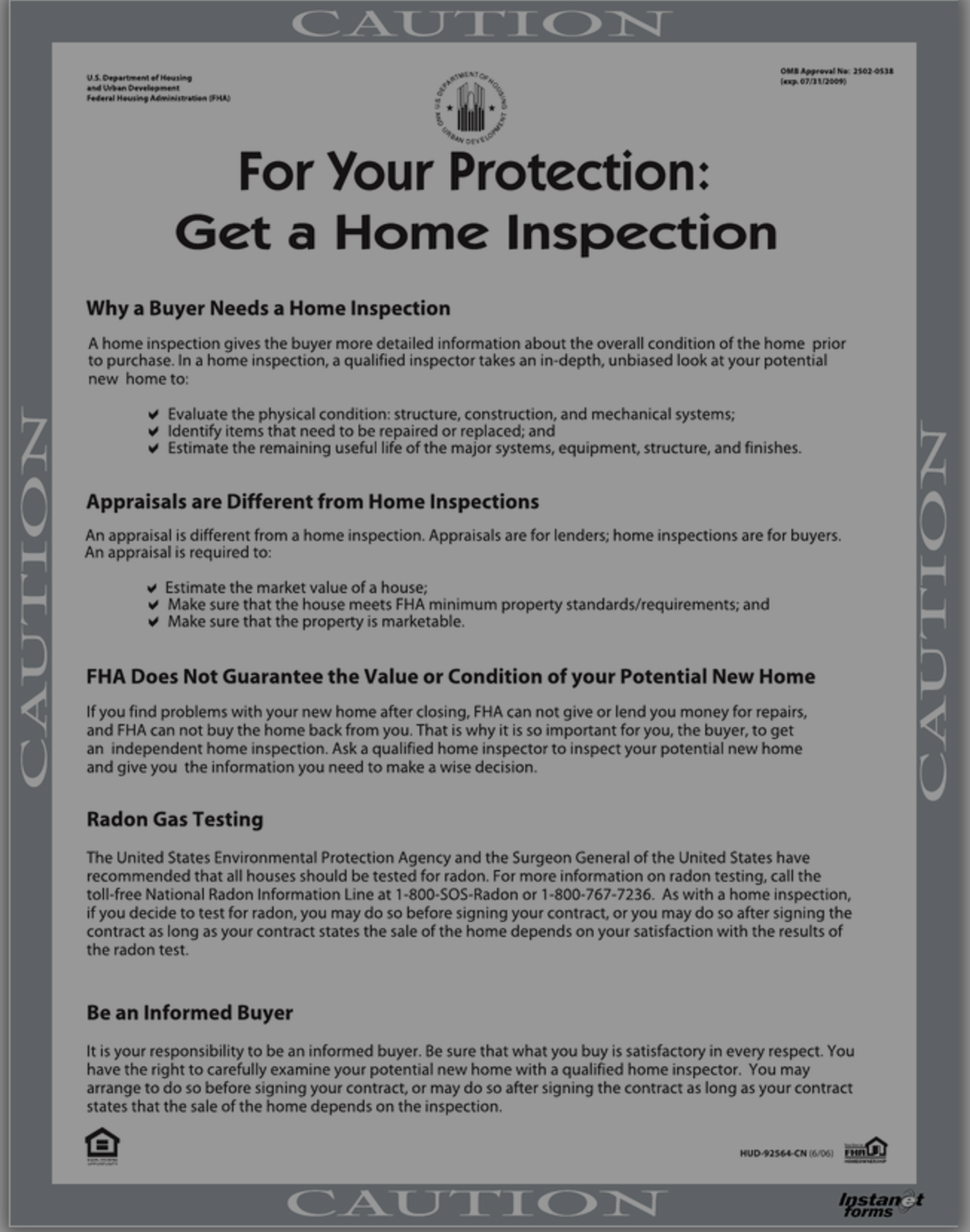 For Your Protection Get a Home Inspection – Twin Cities