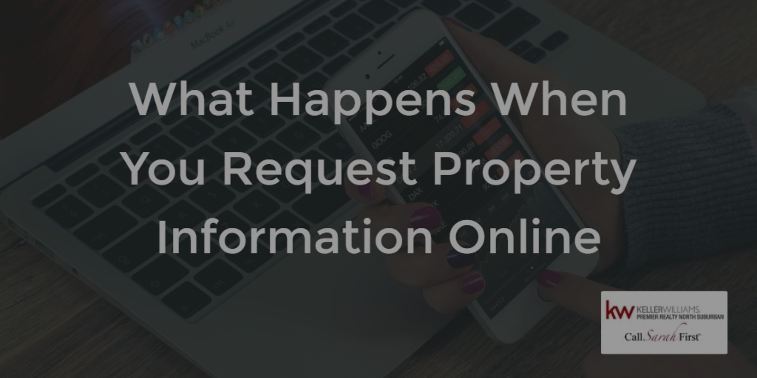 What Happens When You Request Property Information Online