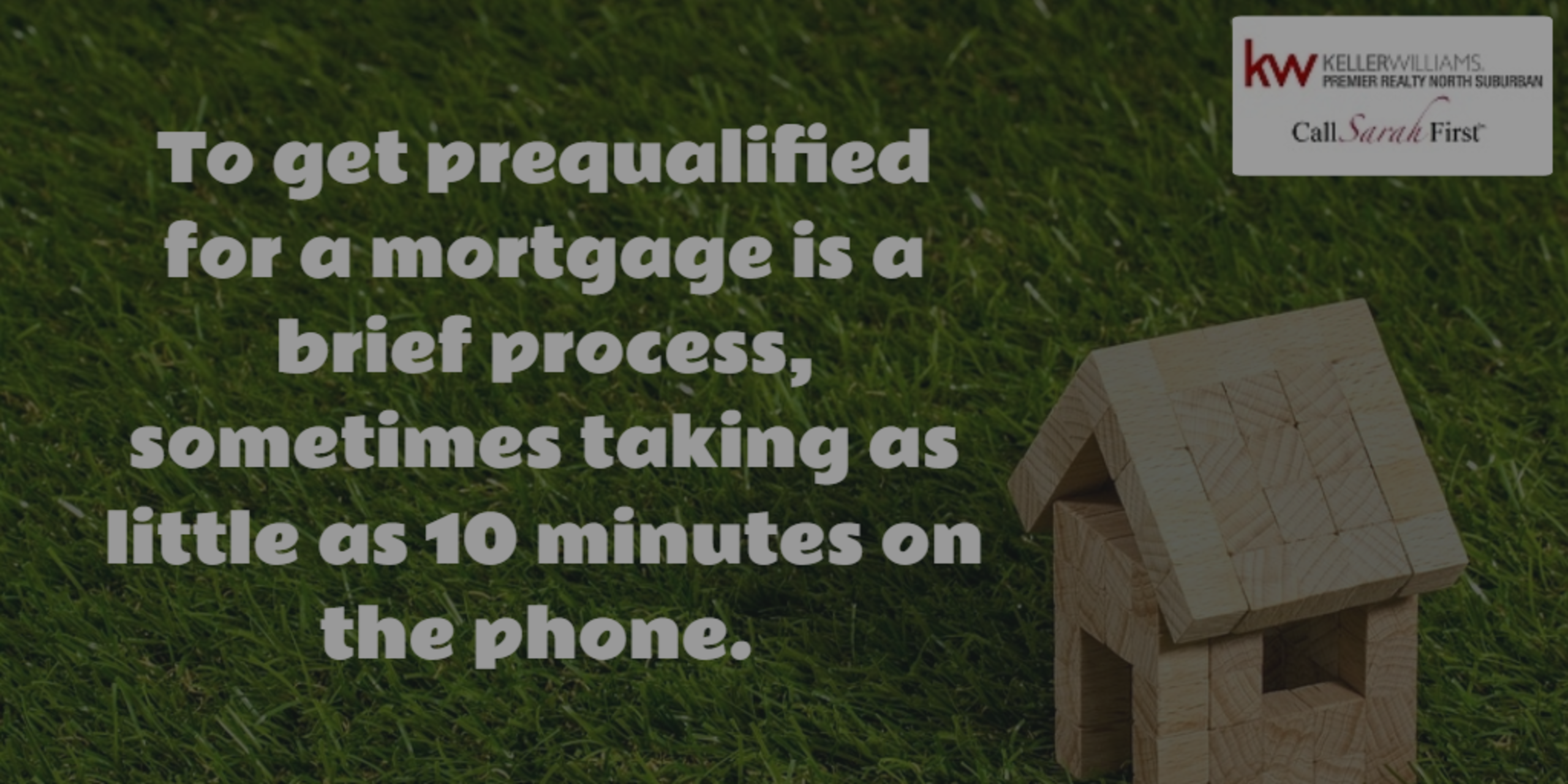 Prequalified or Preapproved